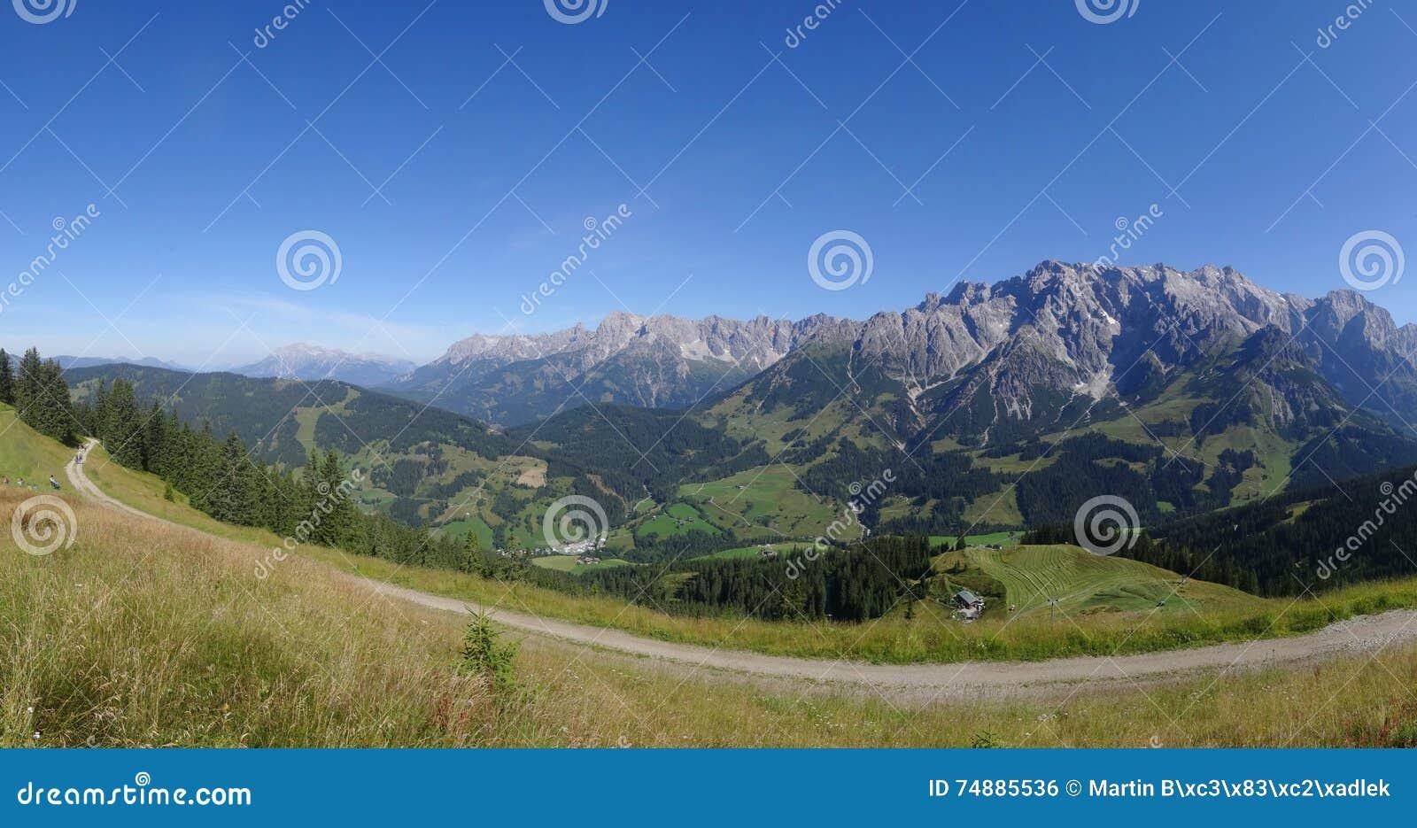 Hochkoenig, Dienten, Salzburg, Áustria