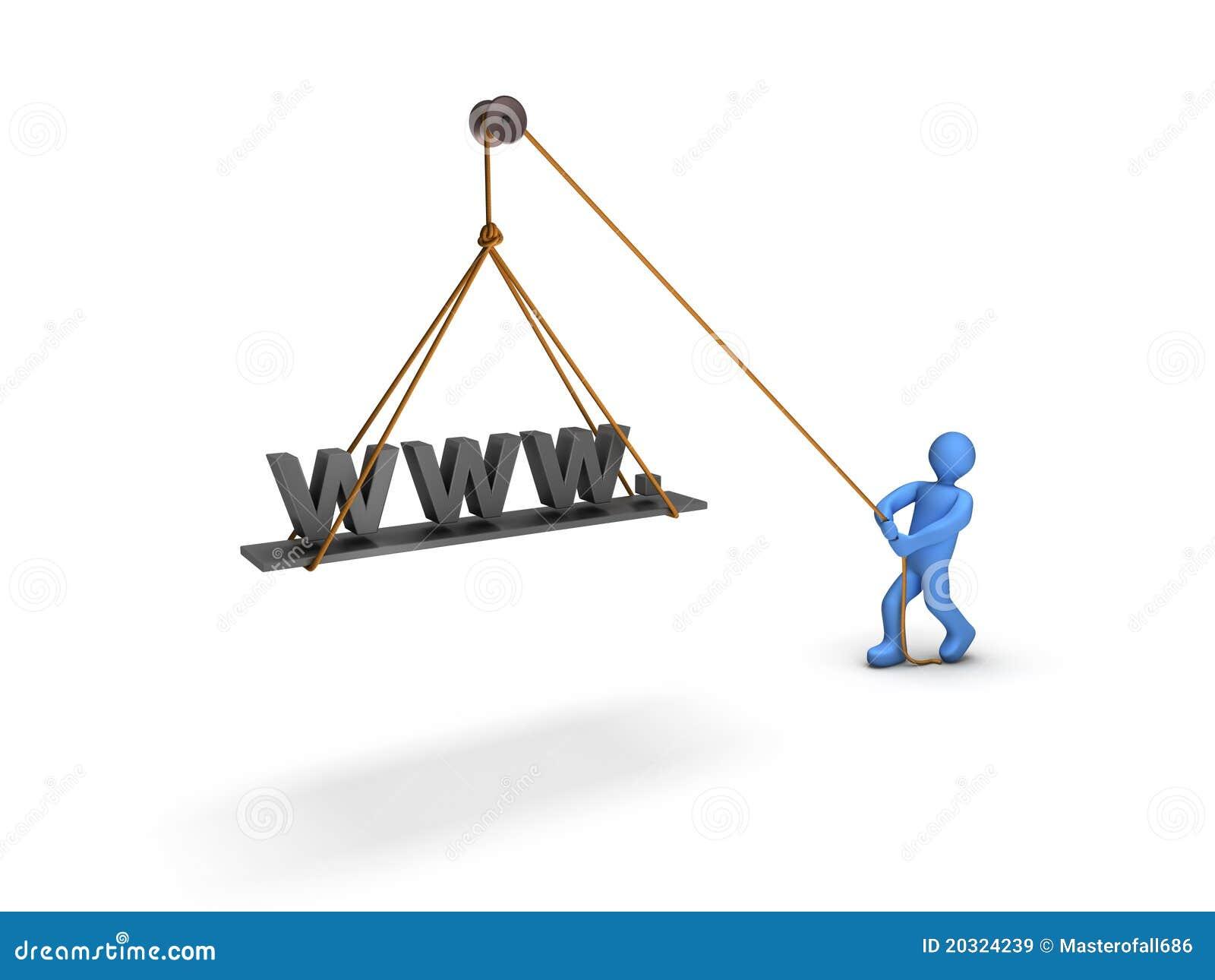 Hochladen einer Web site