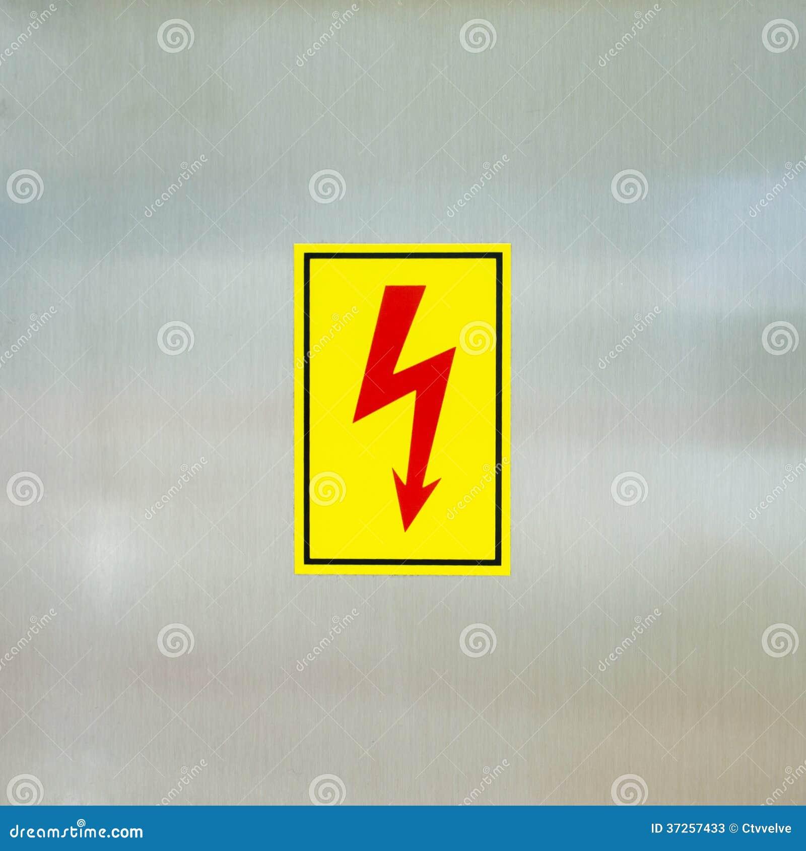 Großzügig Elektrische Hochspannungssymbole Galerie - Elektrische ...
