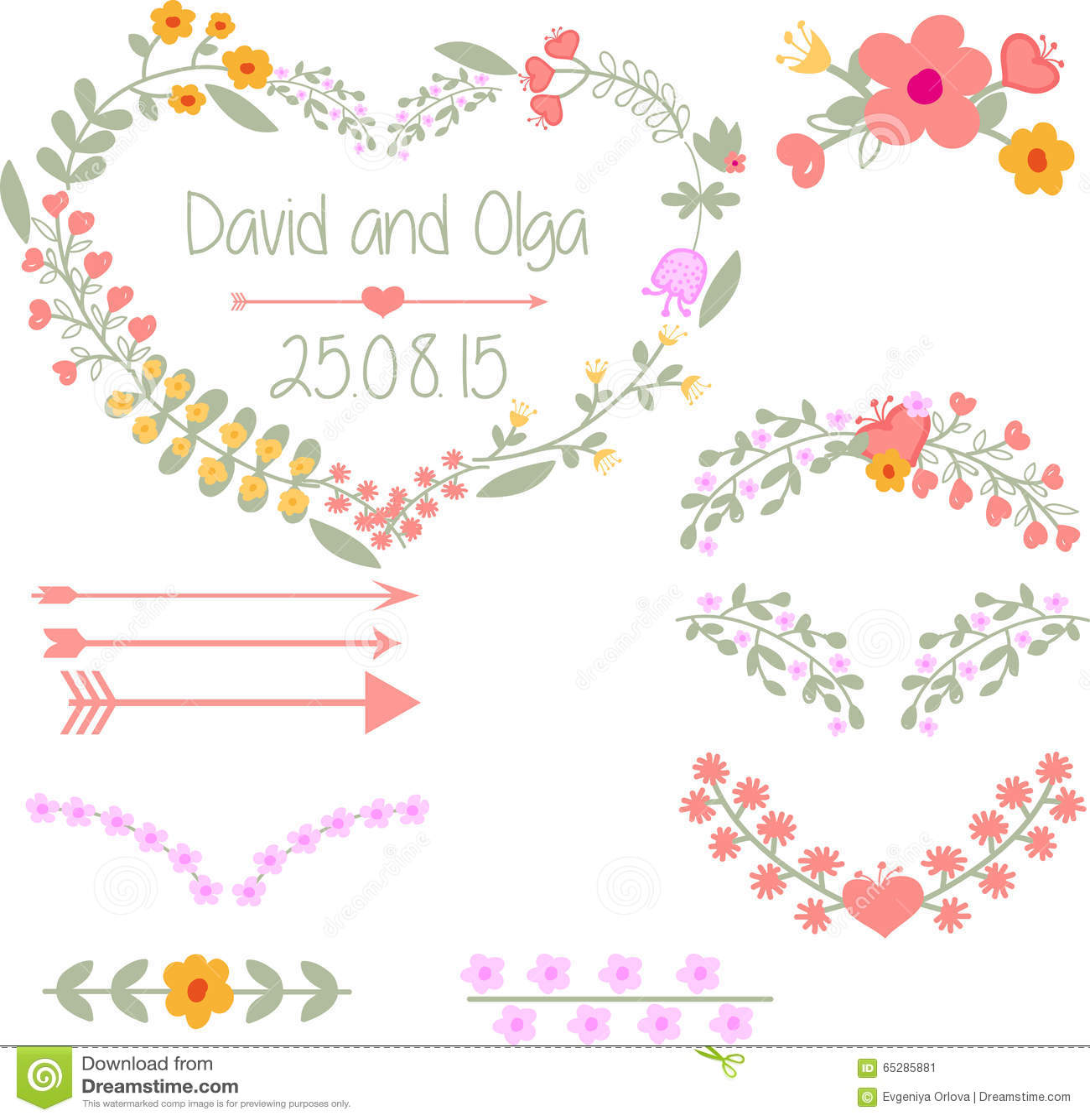 Hochzeit Clipart Stock Abbildung Illustration Von Gluckwunsch
