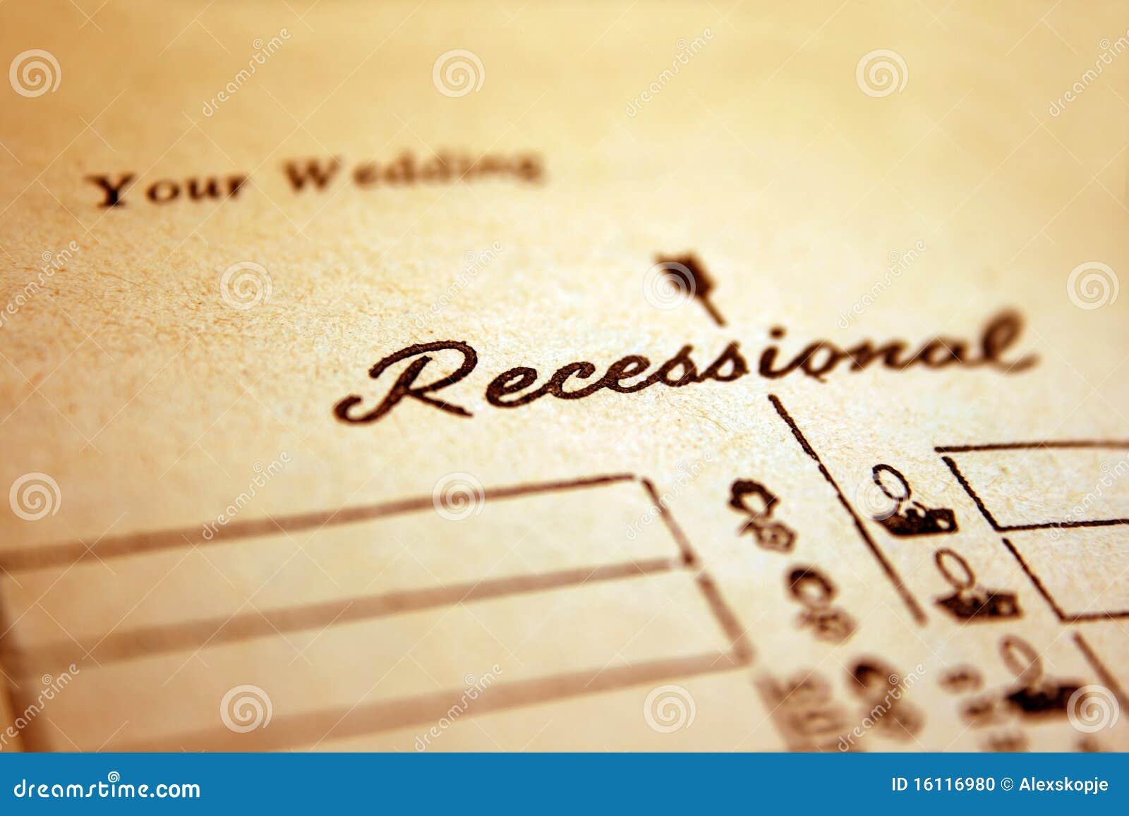 Hochzeit Recessional