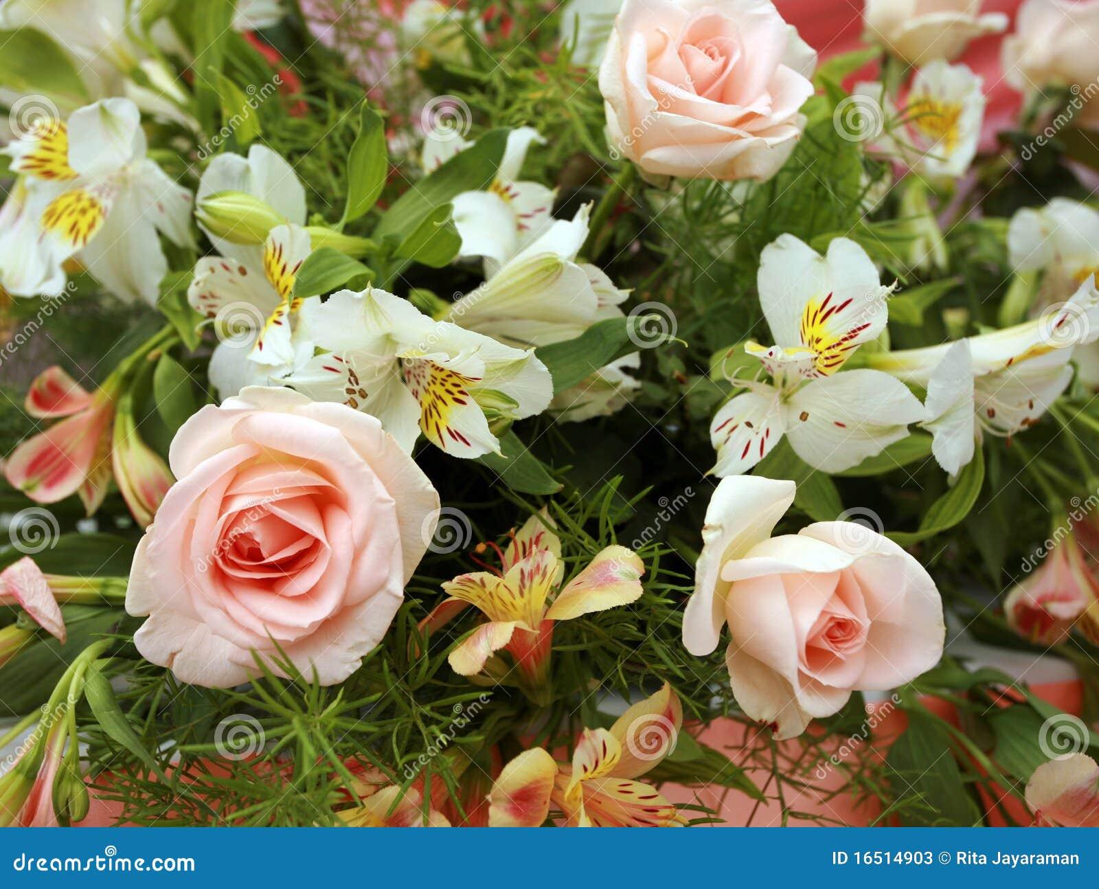 Hochzeitsblumen Stockbild Bild Von Blume Pink Anordnung 16514903