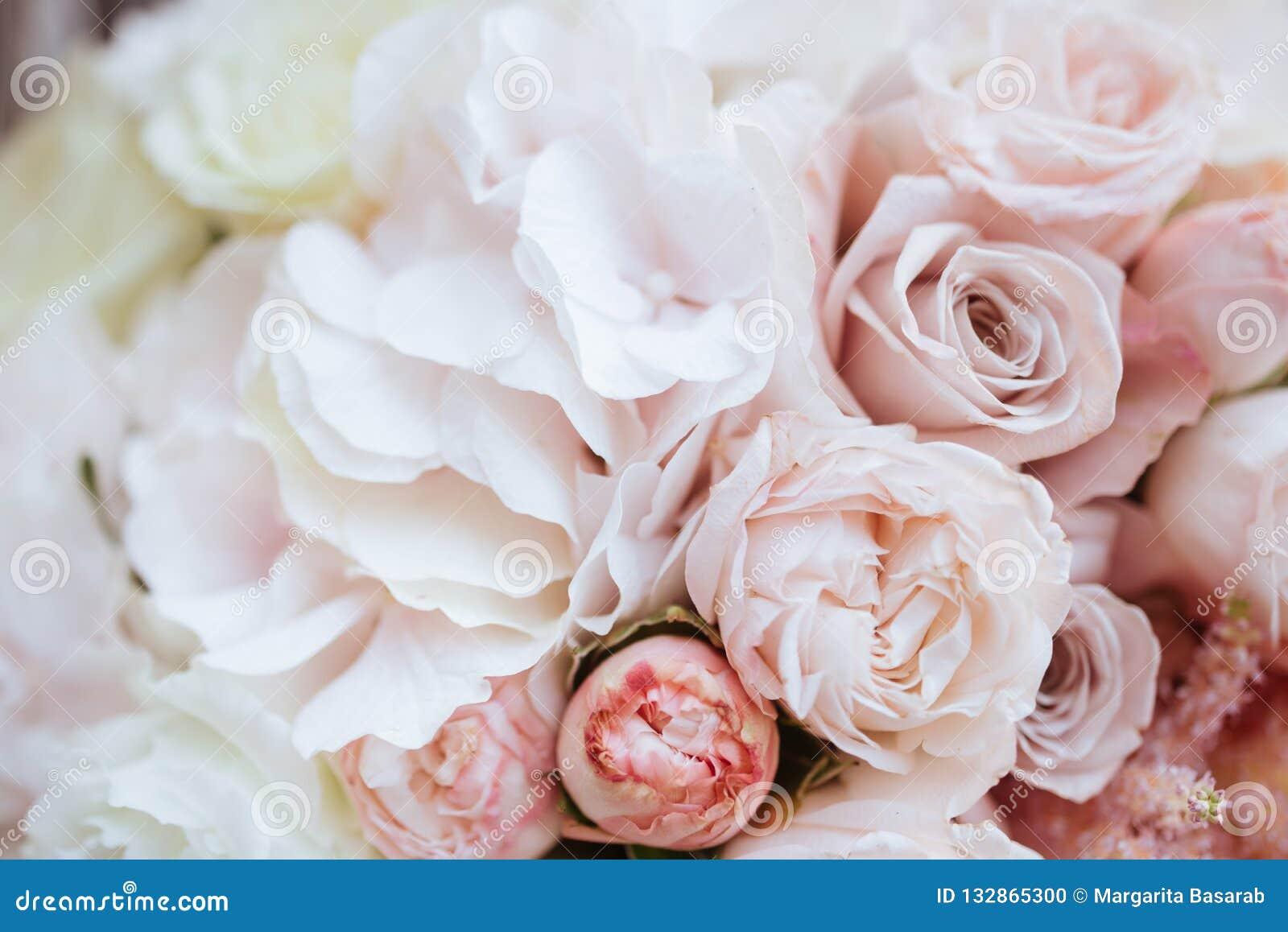 Hochzeitsblumen Brautblumenstraussnahaufnahme Stockfoto Bild Von