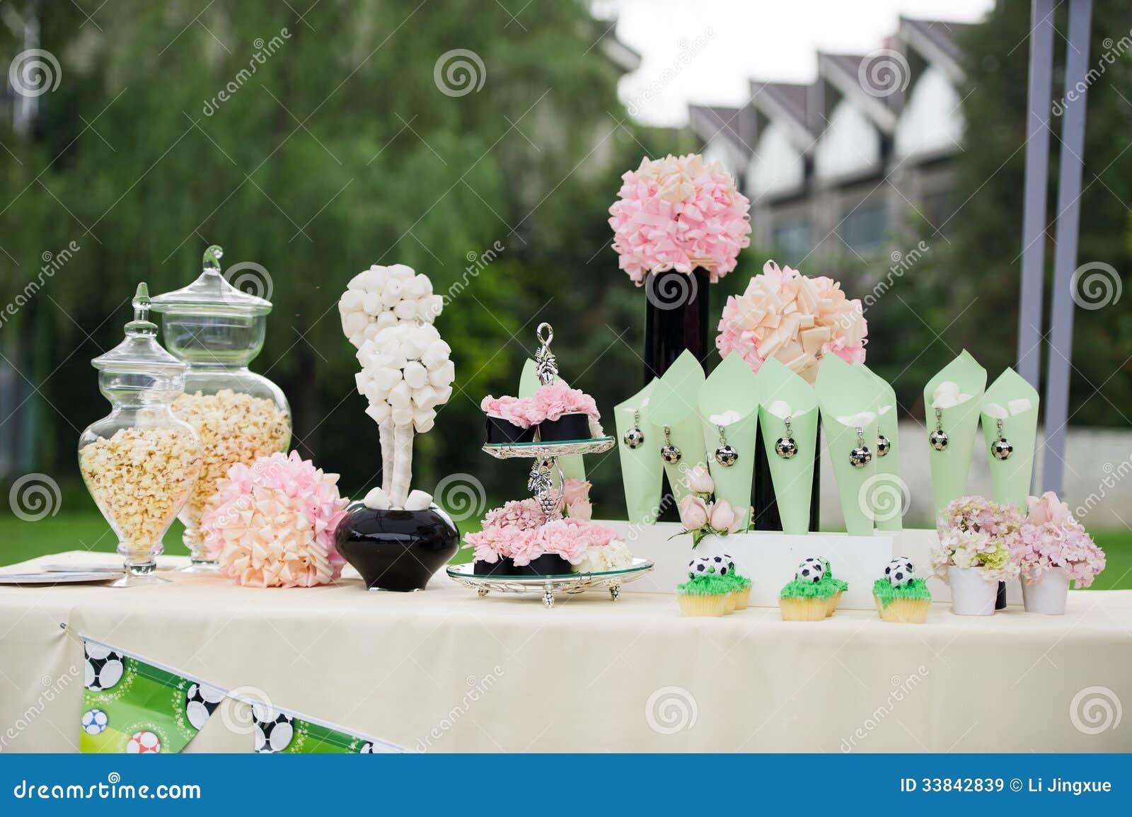Hochzeitsdekorationen Stockbild Bild Von Dekoration 33842839