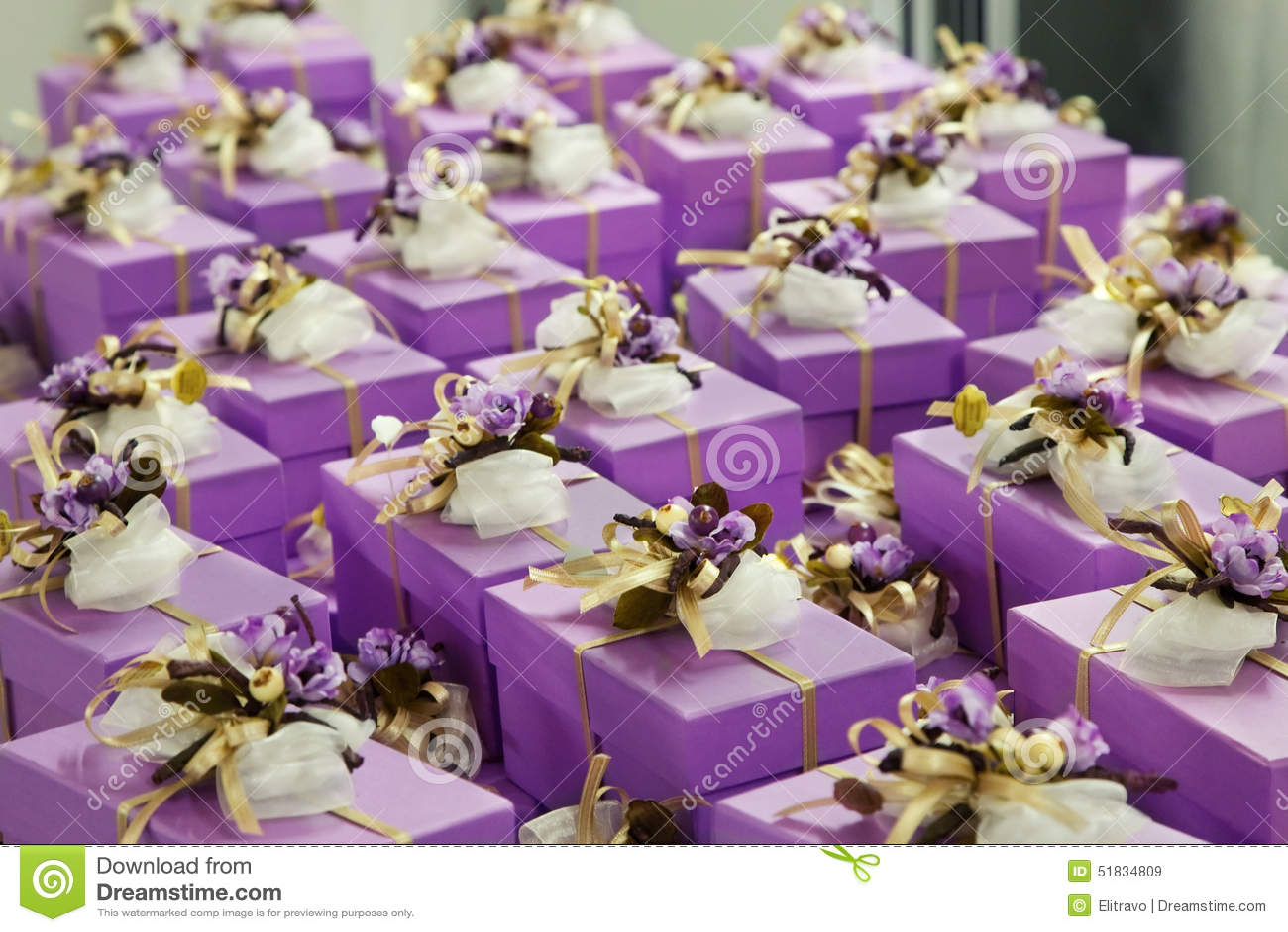 Hochzeitsgeschenke Fur Gast Stockbild Bild Von Gaste Abschluss