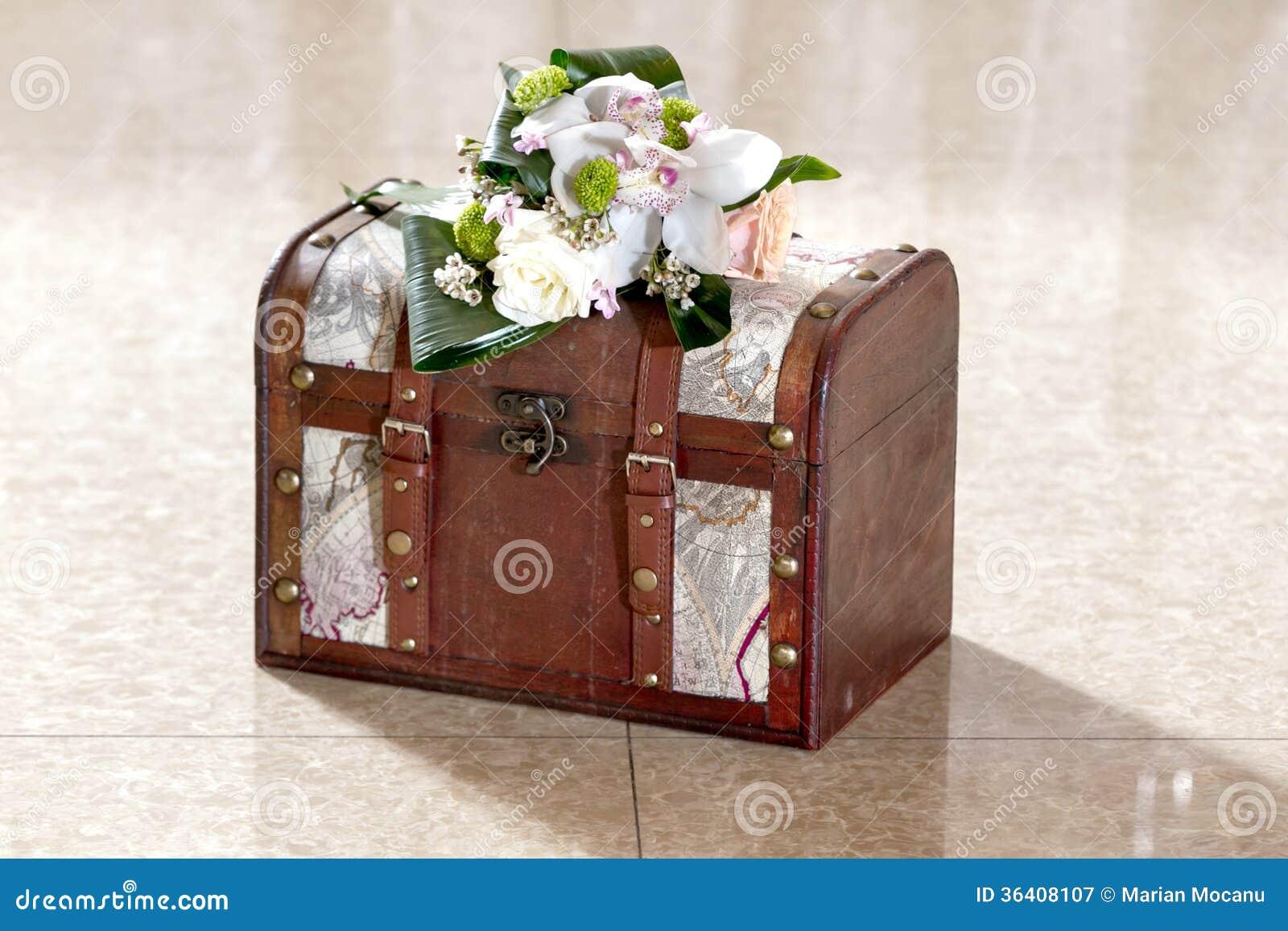Geld-Kasten für Hochzeits-