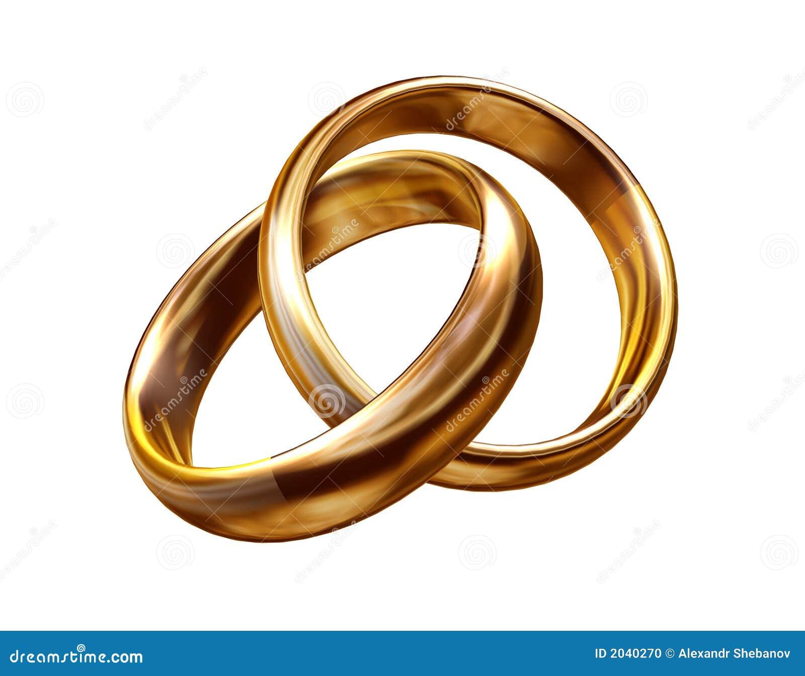 Hochzeitsringe 3d Stock Abbildung Illustration Von Join 2040270