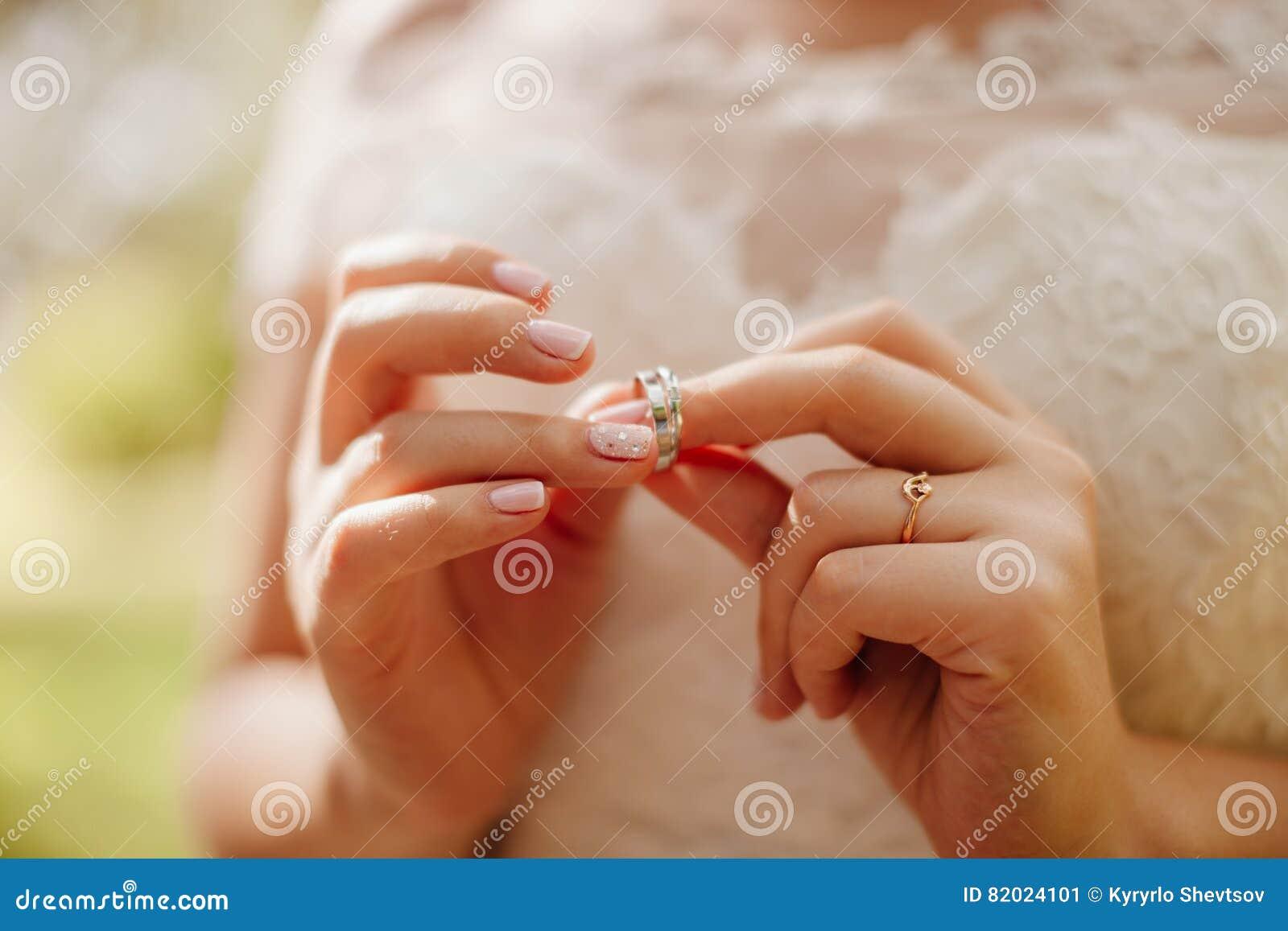 Hochzeitsringe Makro Stockbild Bild Von Dekoration Verbindung
