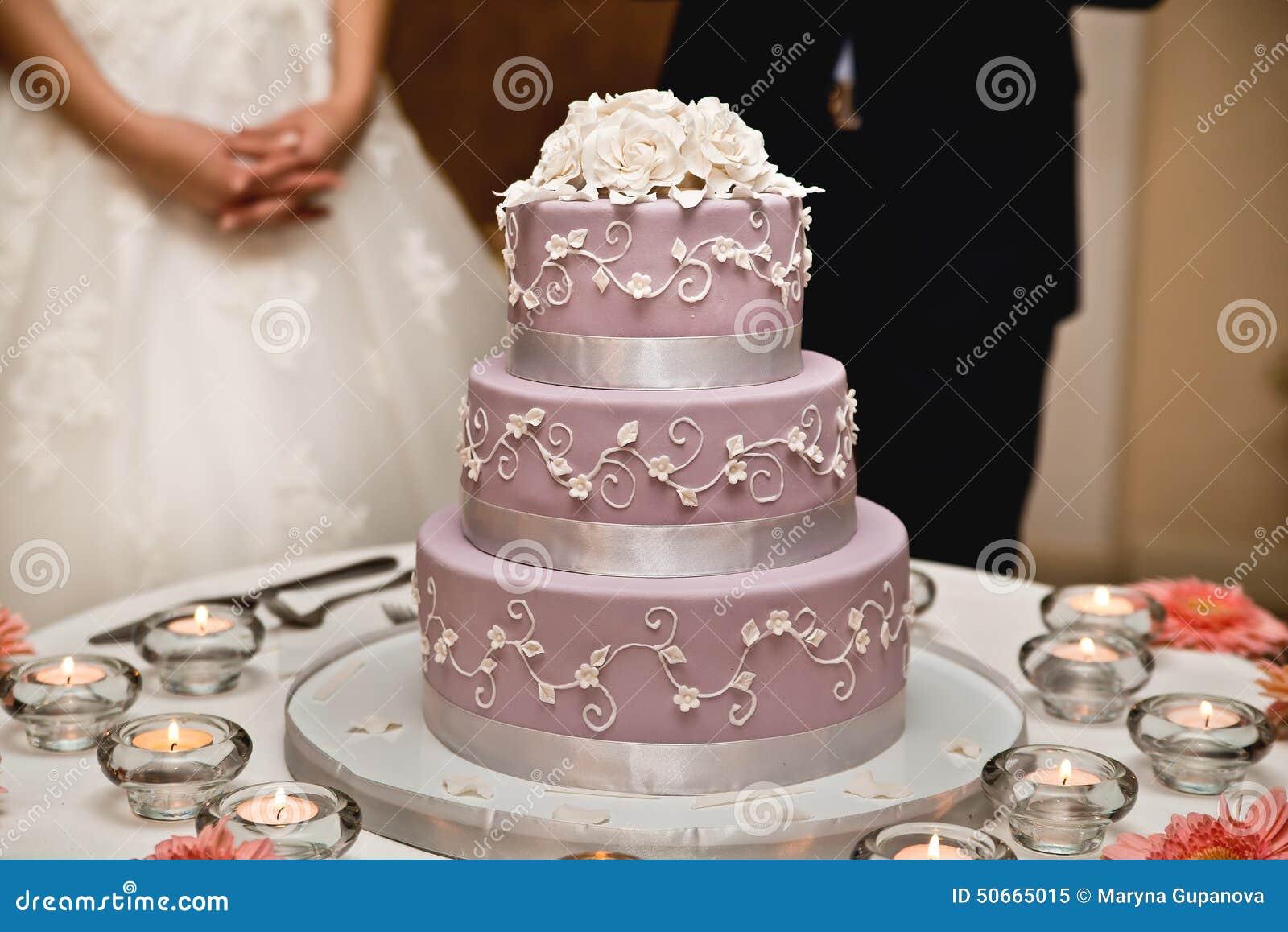 Hochzeitstorten Stockbild Bild Von Dekorationen Marry 50665015