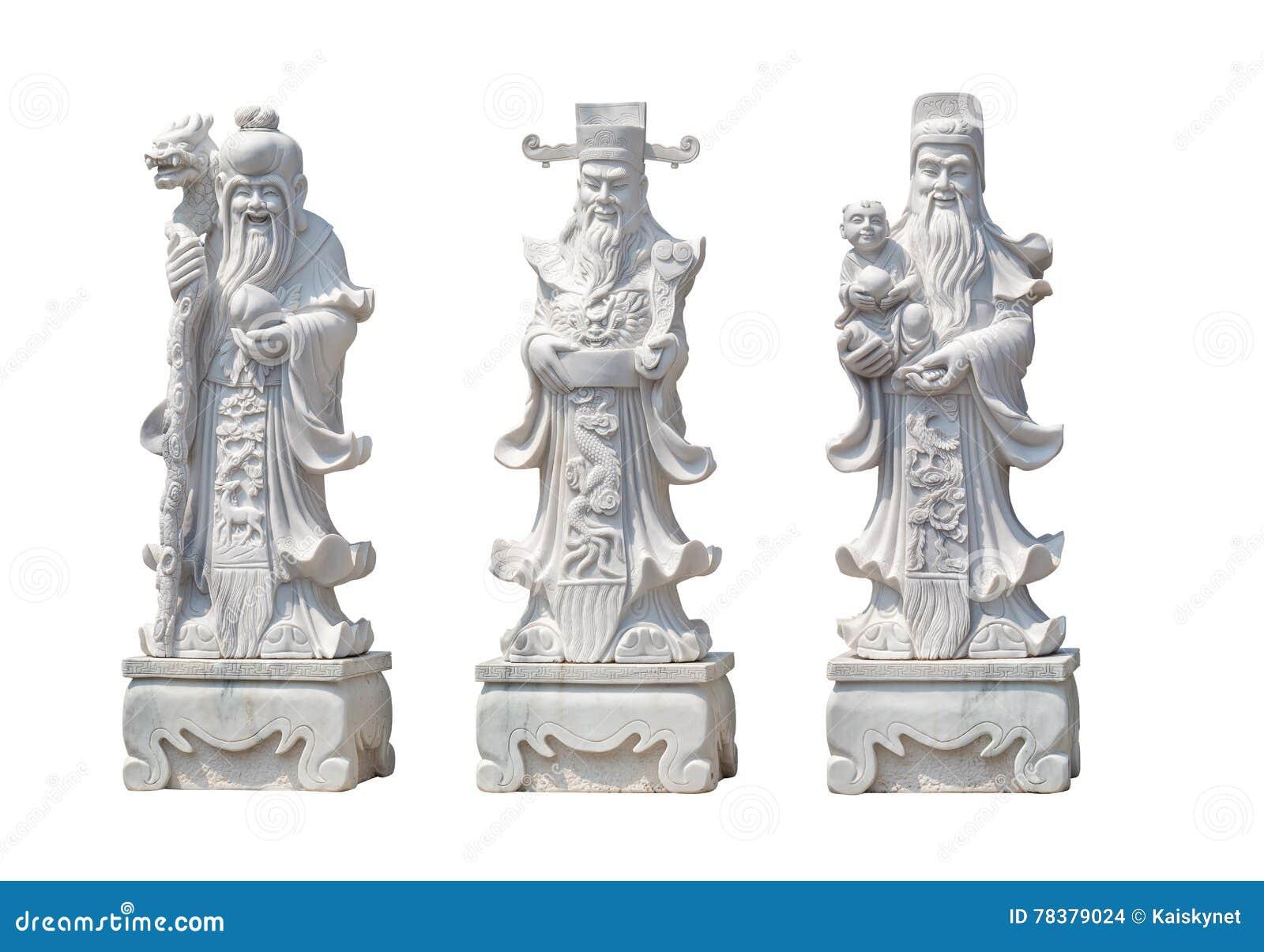 Hock Lok Siew or Fu Lu Shou, Three gods of Chinese.