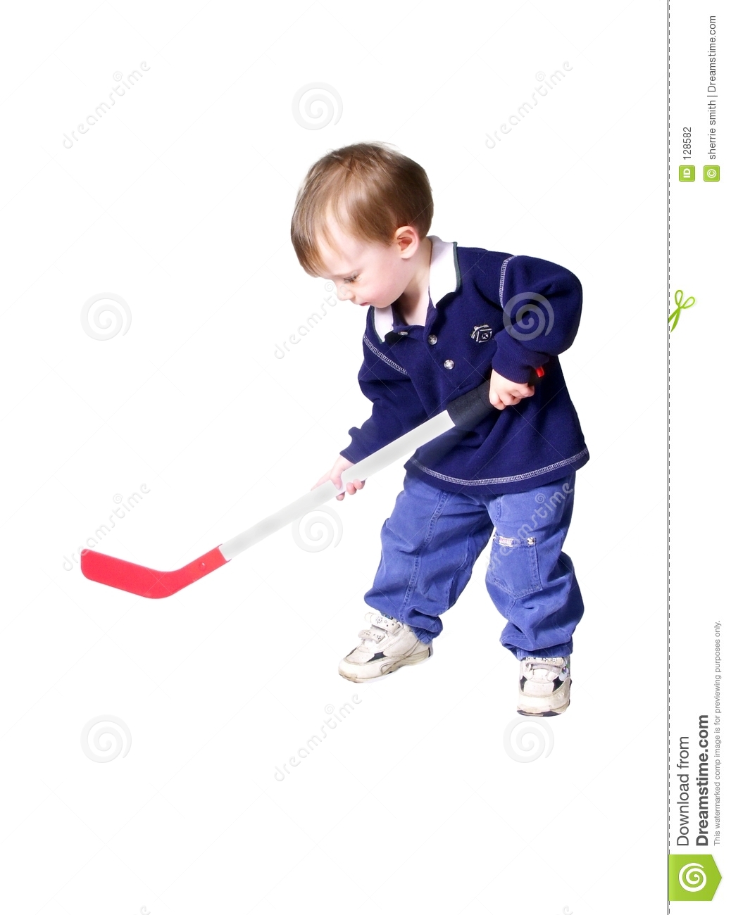 Hockey #2 stock photo. Image of toys, baby, child, white ...