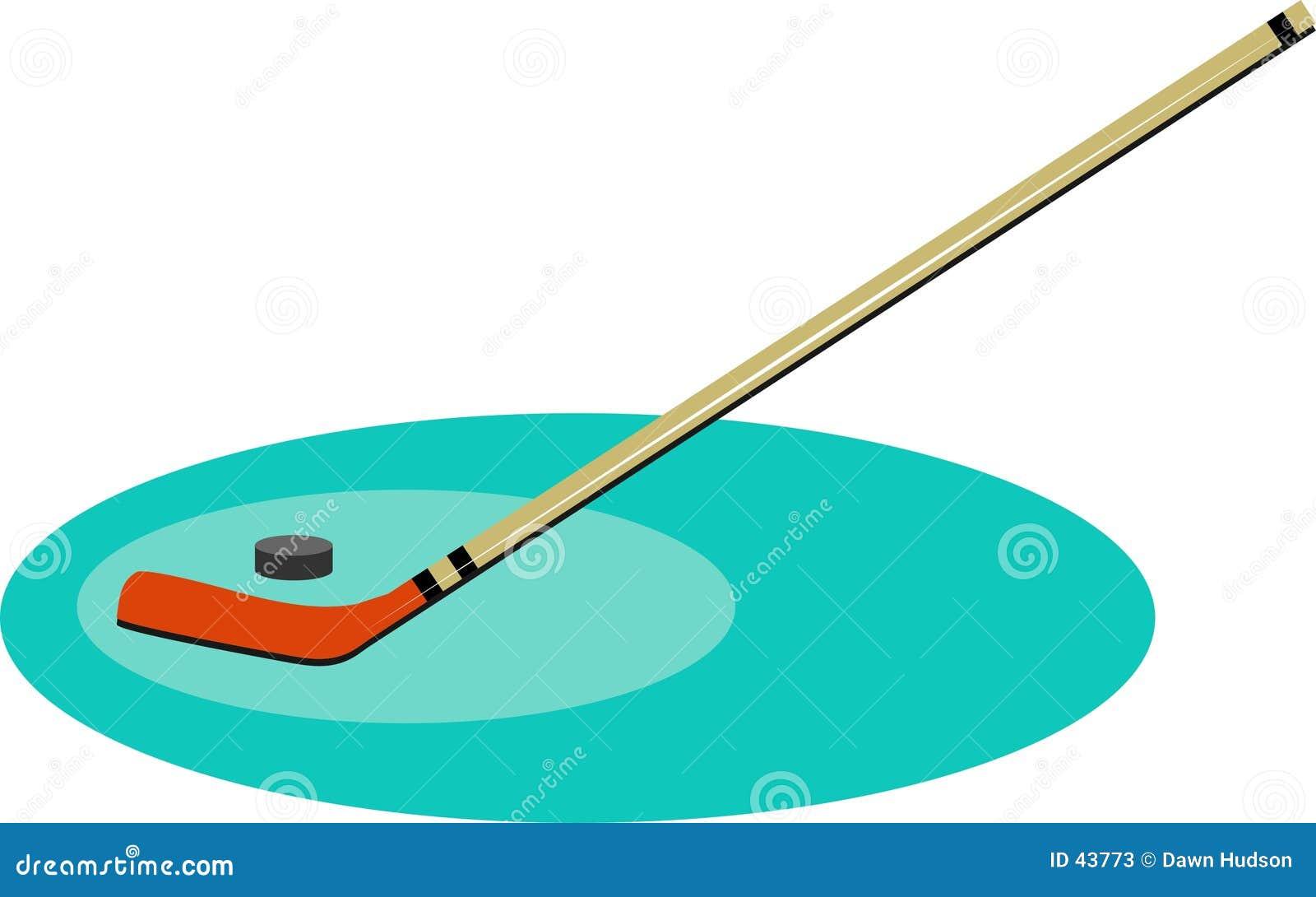 Download Hockey ilustración del vector. Ilustración de manías, reconstrucción - 43773
