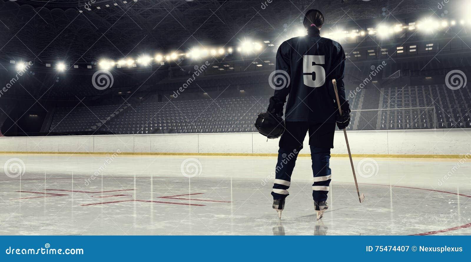 Hockey del gioco della donna Media misti