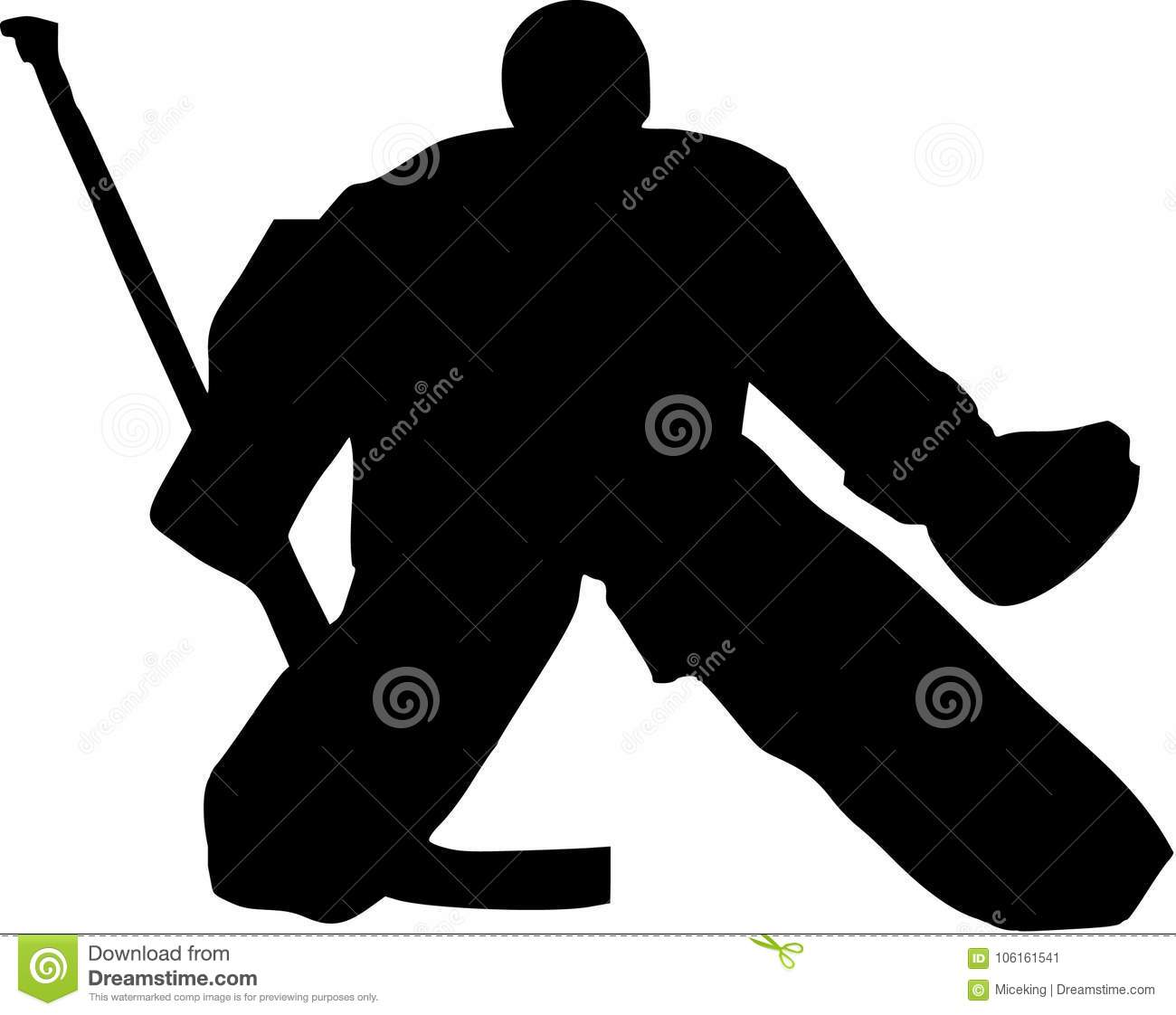 Hockey Goalie Stock Vector Illustration Of Championship 106161541