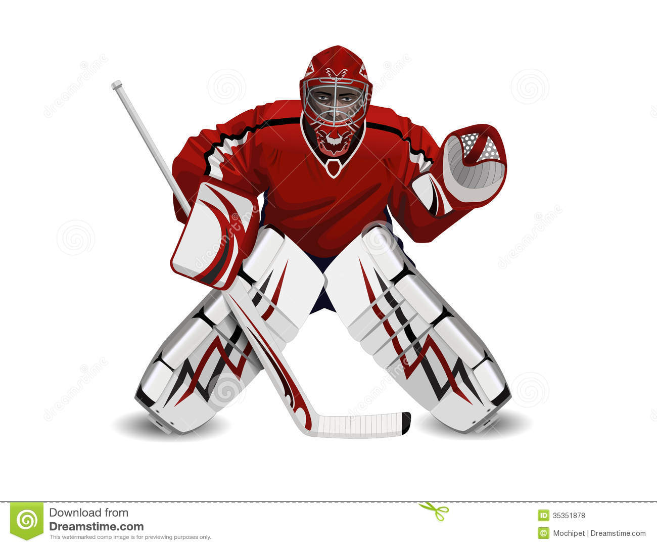 an analysis of a goaltender in ice hockey Submitted 1 year ago by repliers_bewareott - nhl  follow up question: why  does the starting goalie always lead the team on the ice for pre.