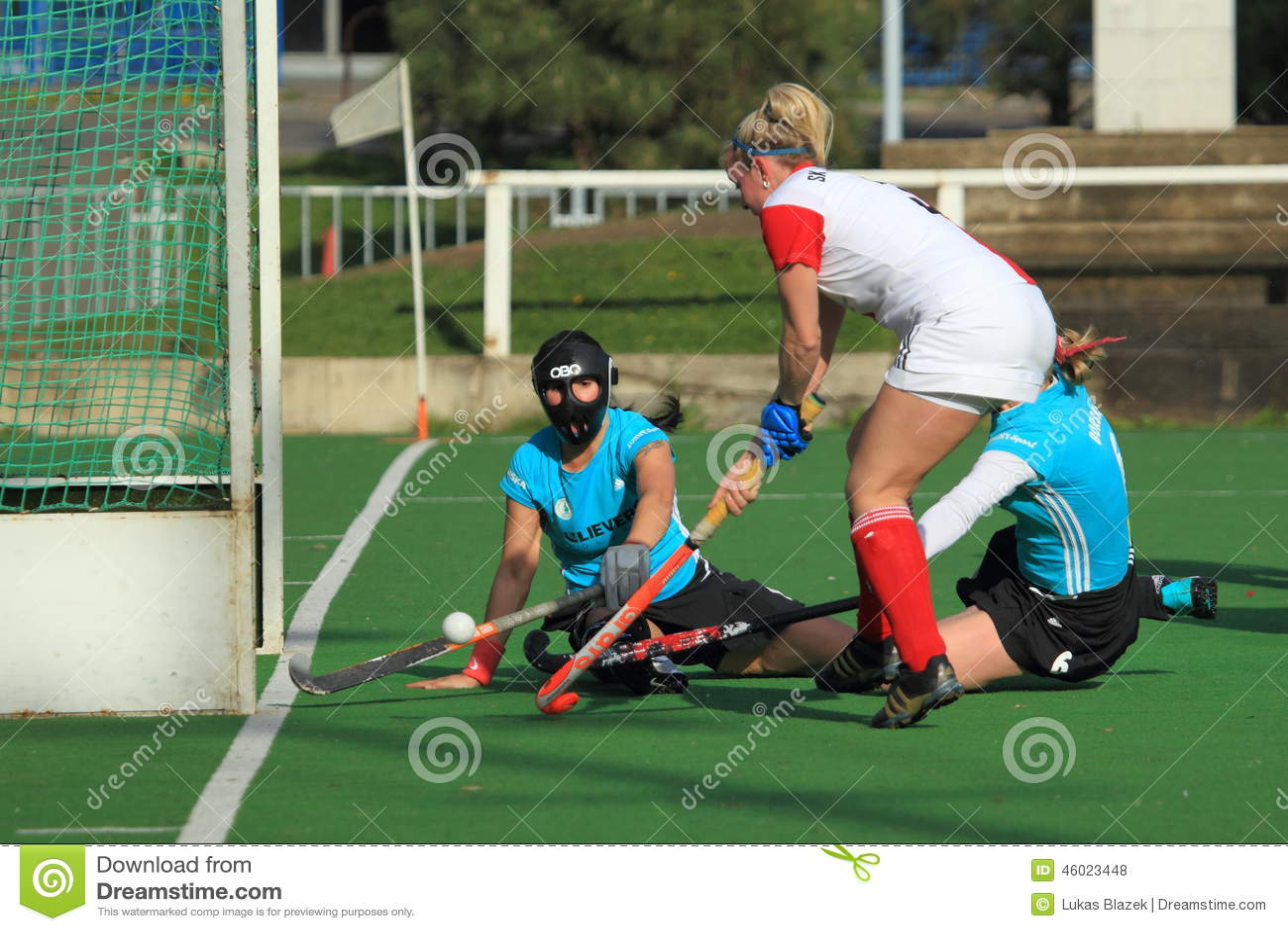 Hockey hierba de las mujeres