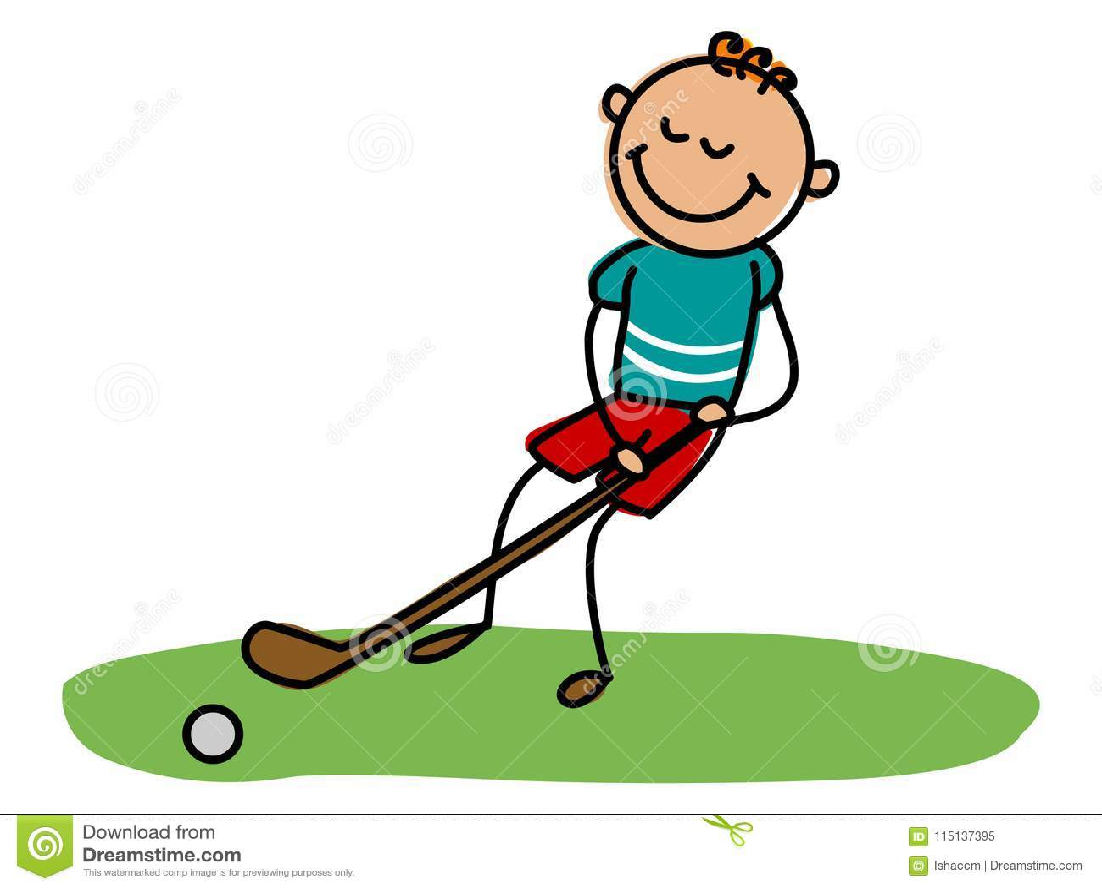 Hockey Kid Cartoon Kid Vector Illustration Stock Vector Illustration Of Illustration Artistic 115137395