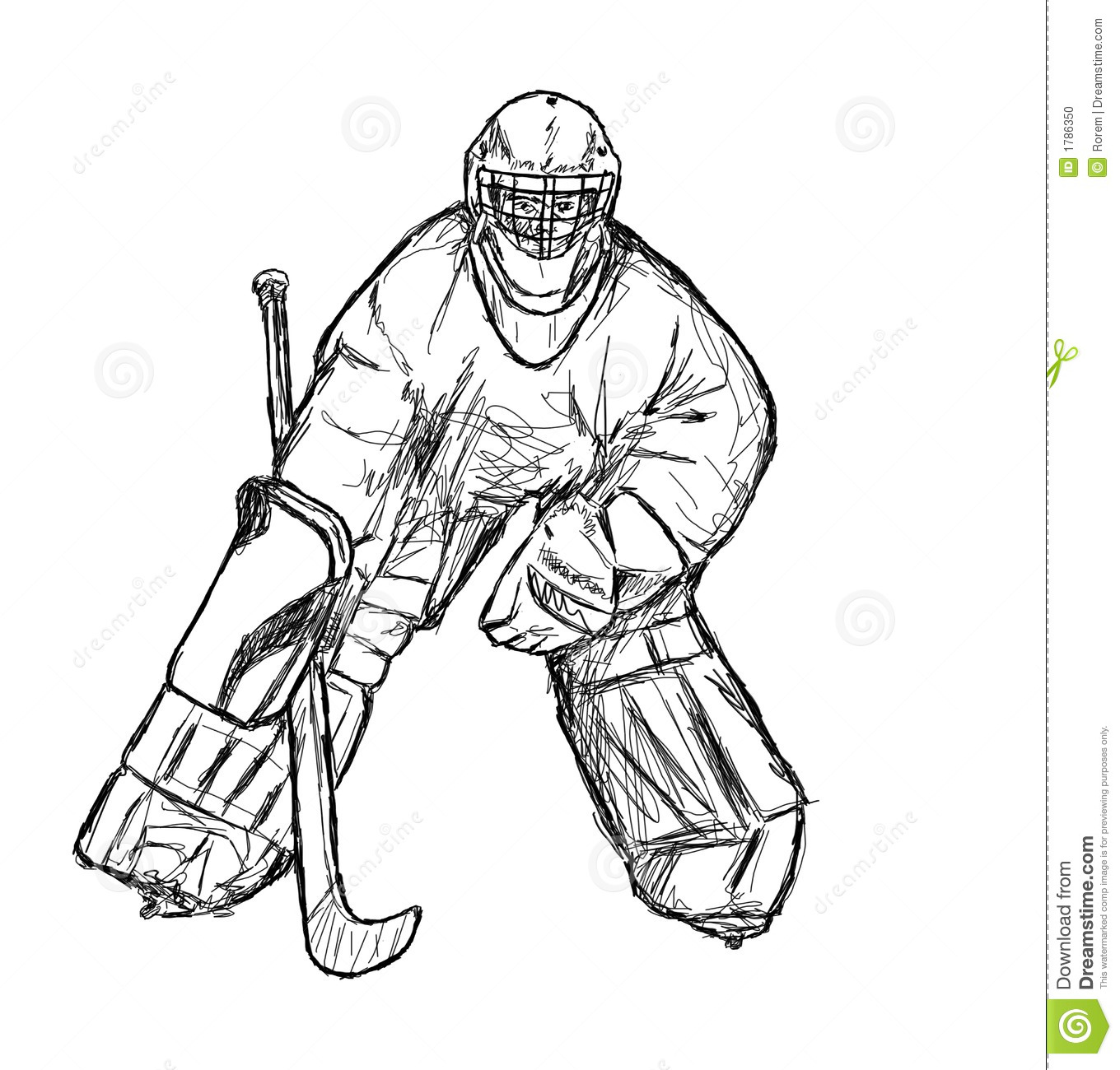 Stock Photo Hockey Player Image1786350 on baseball vector graphics