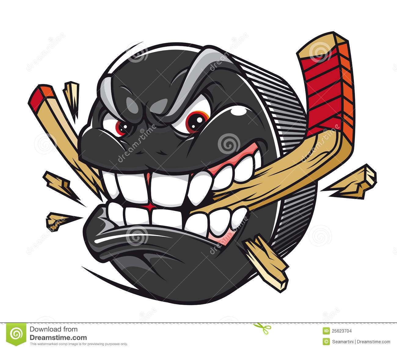 evolution of the ice hockey player stock vector image 48132642