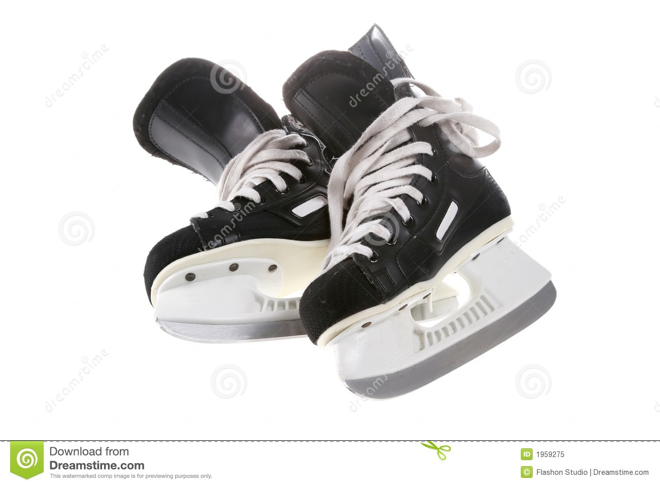 Hockey Skates Royalty Free Stock Photo - Image: 1959275