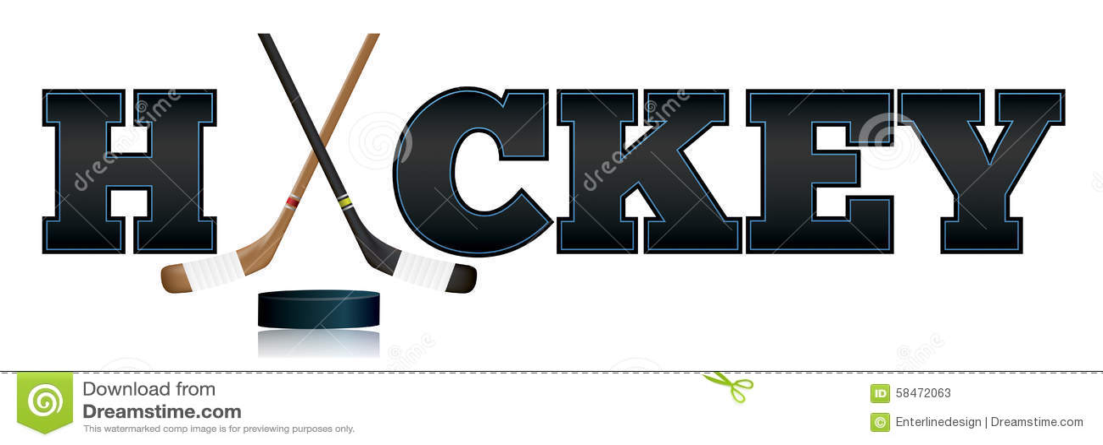 Hockey Word Art...