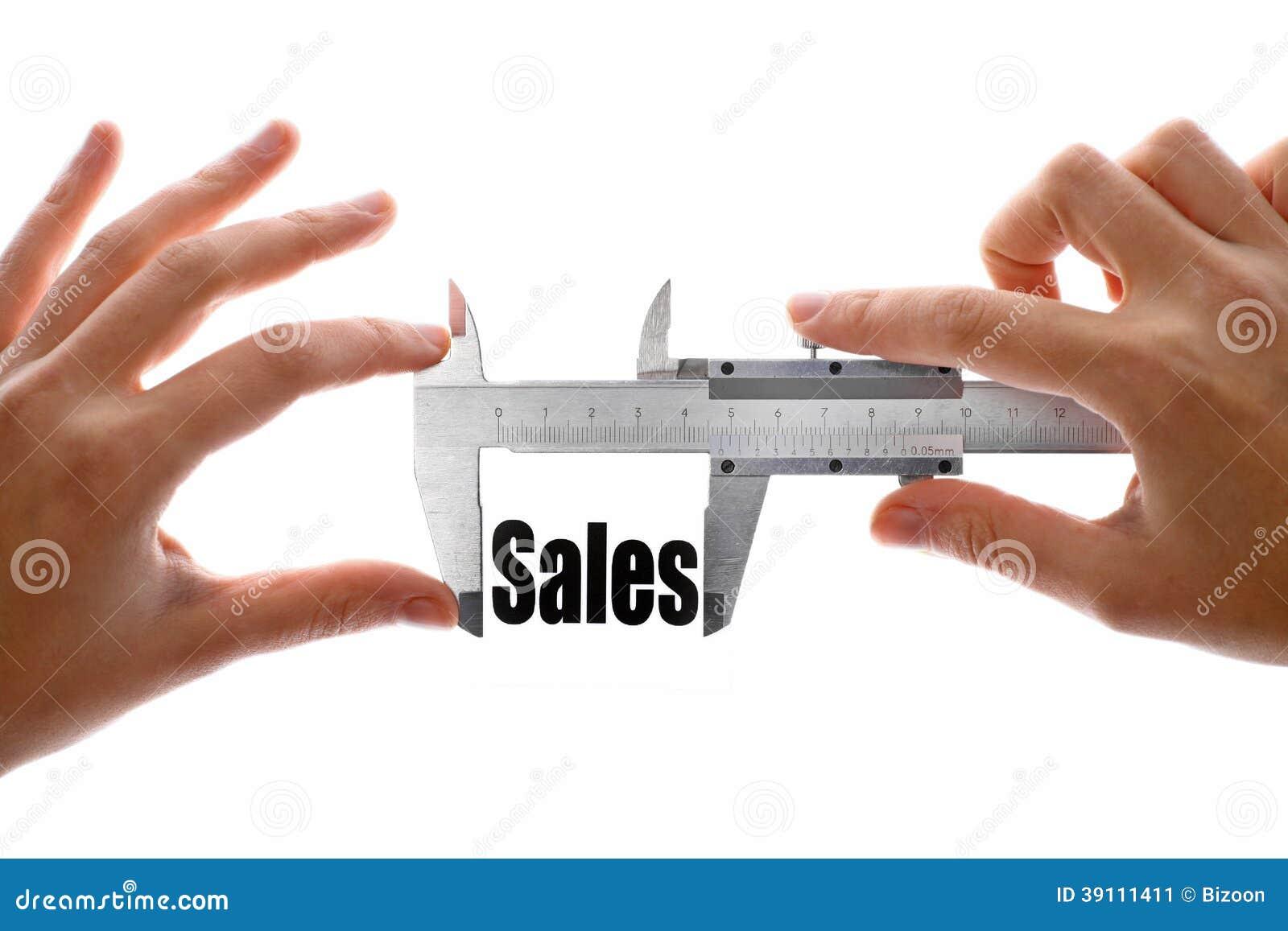 Hoe groot onze verkoop is