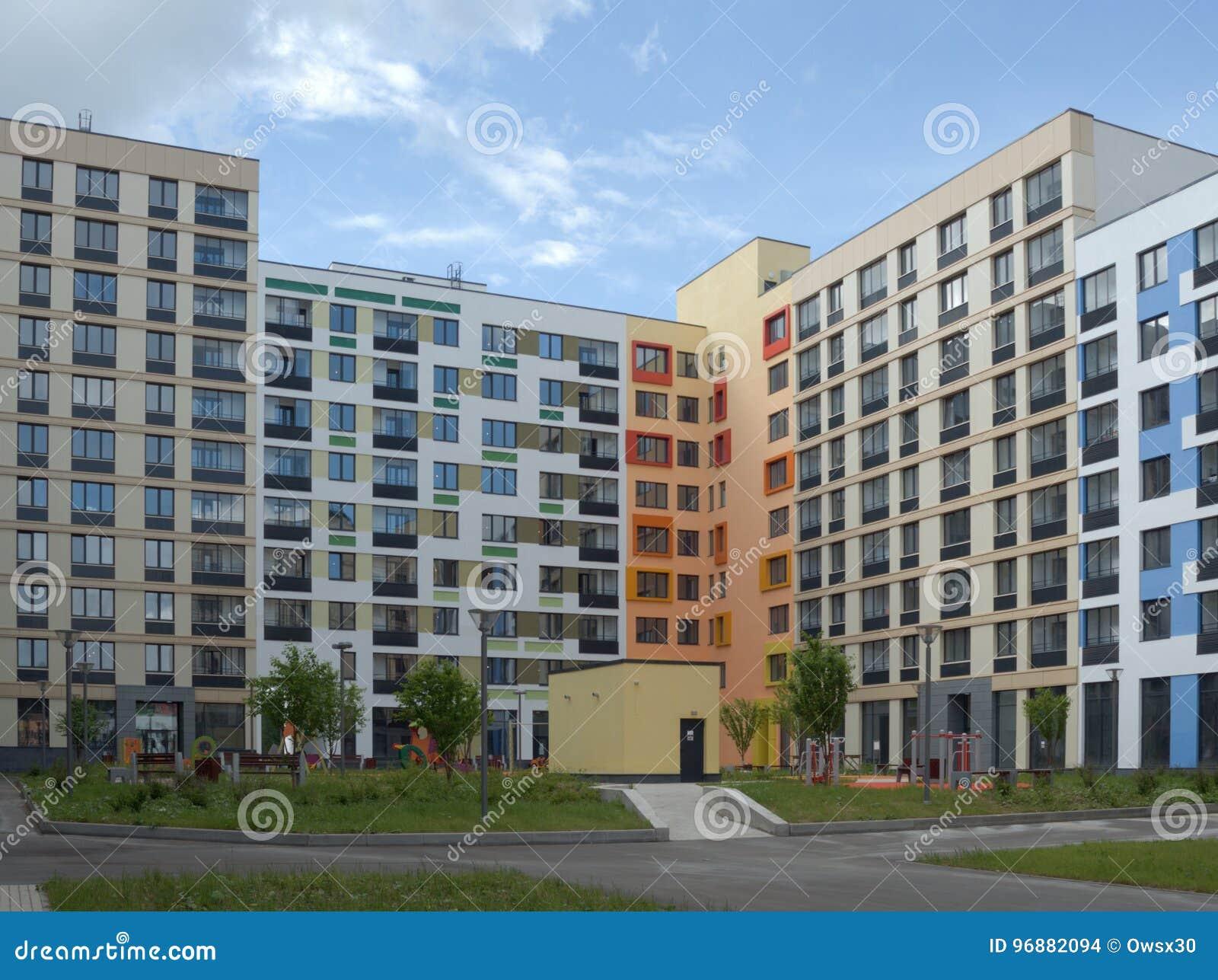 Astounding Moderne Häuser Innen Beste Wahl Pattern Hof Von Modernen Häusern Moskau, Russland