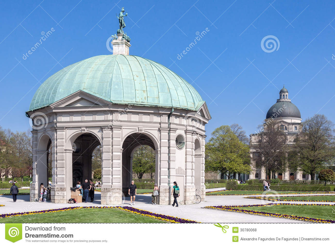 hofgarten munich germany editorial stock photo image 30780068. Black Bedroom Furniture Sets. Home Design Ideas