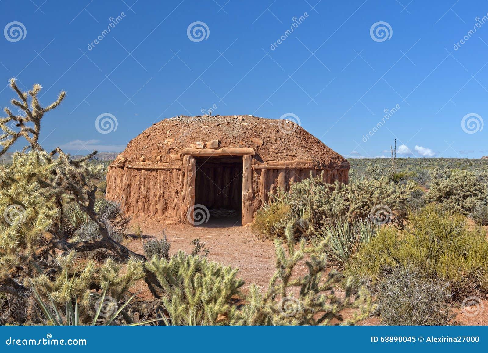Hogan, moradia tradicional dos povos do Navajo