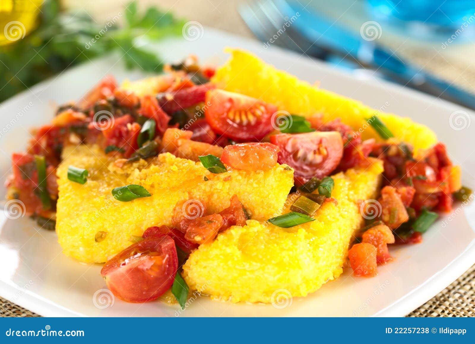 Hogao polenta