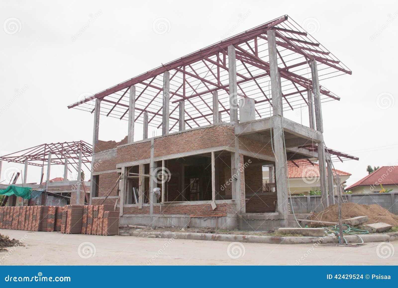 Hogar bajo construcción