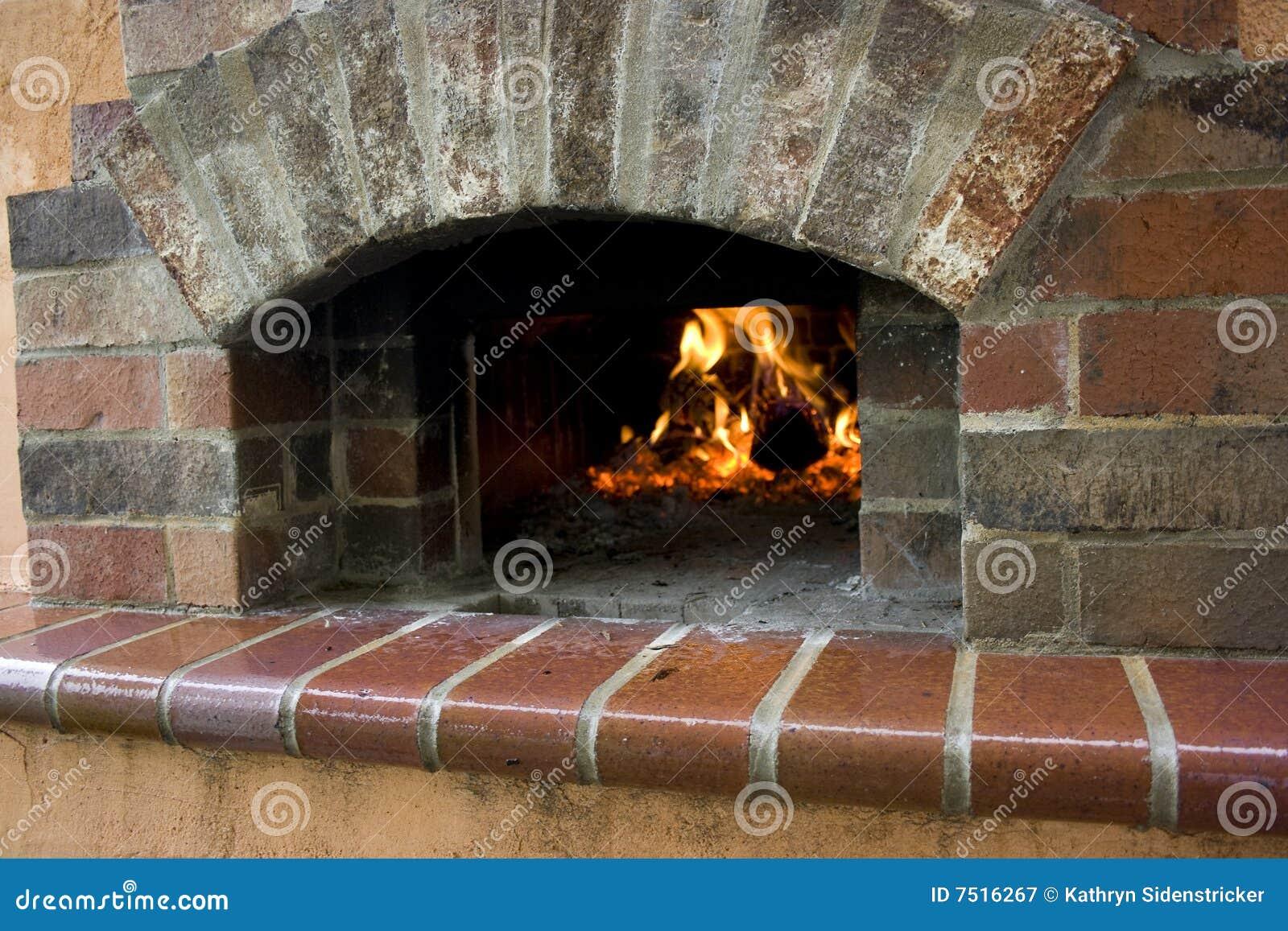 Hogar del horno de la pizza