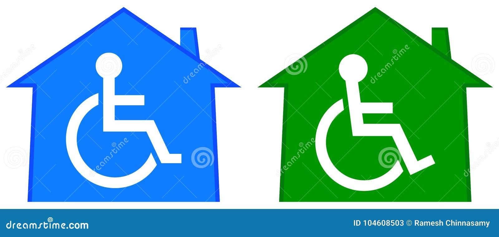 Hogar discapacitado de la atención sanitaria