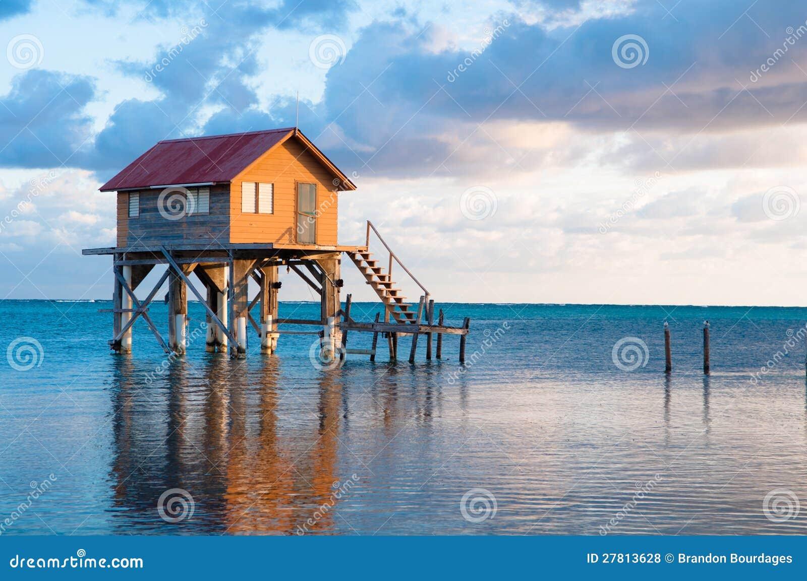 Hogar en el Ambergris Caye Belice