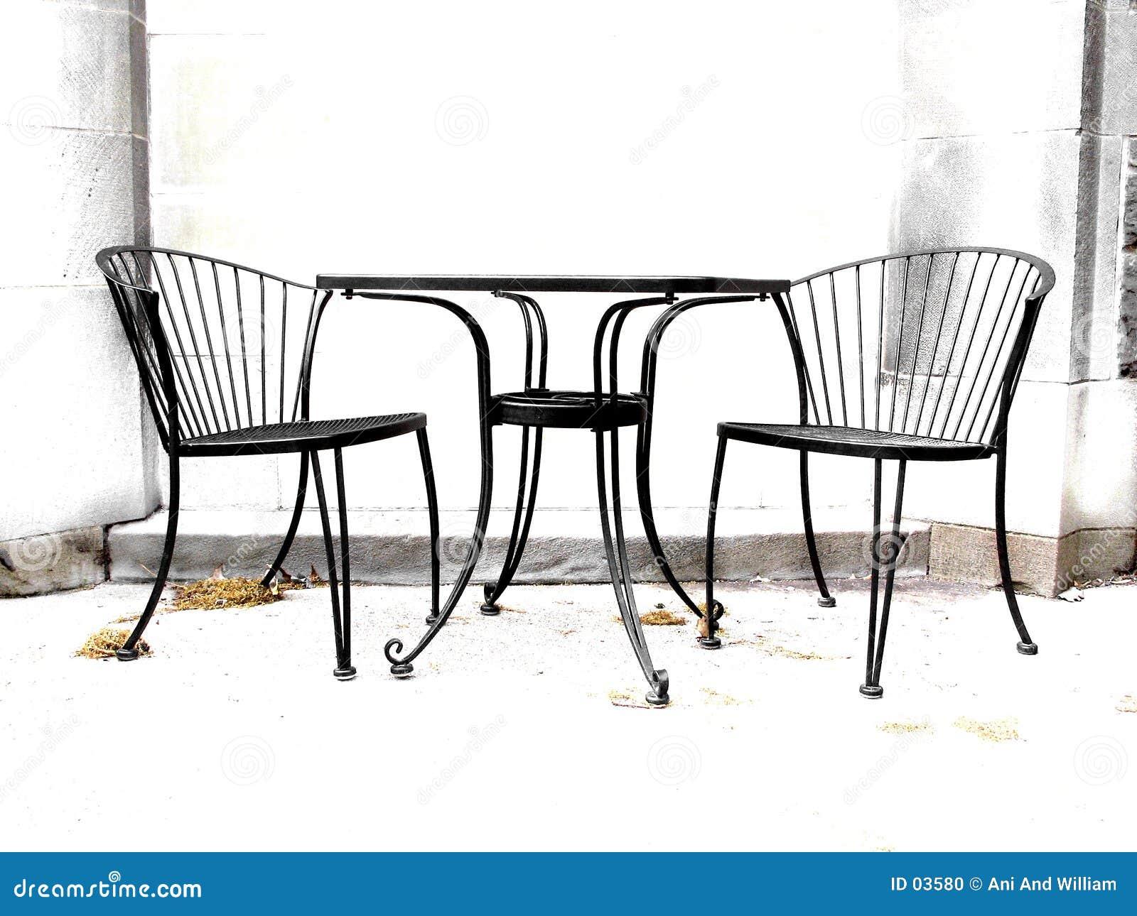 Hoge contraststoelen