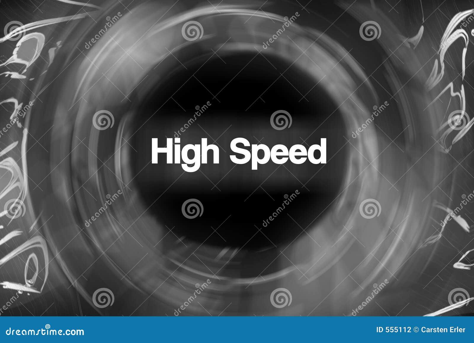 Hoge snelheid
