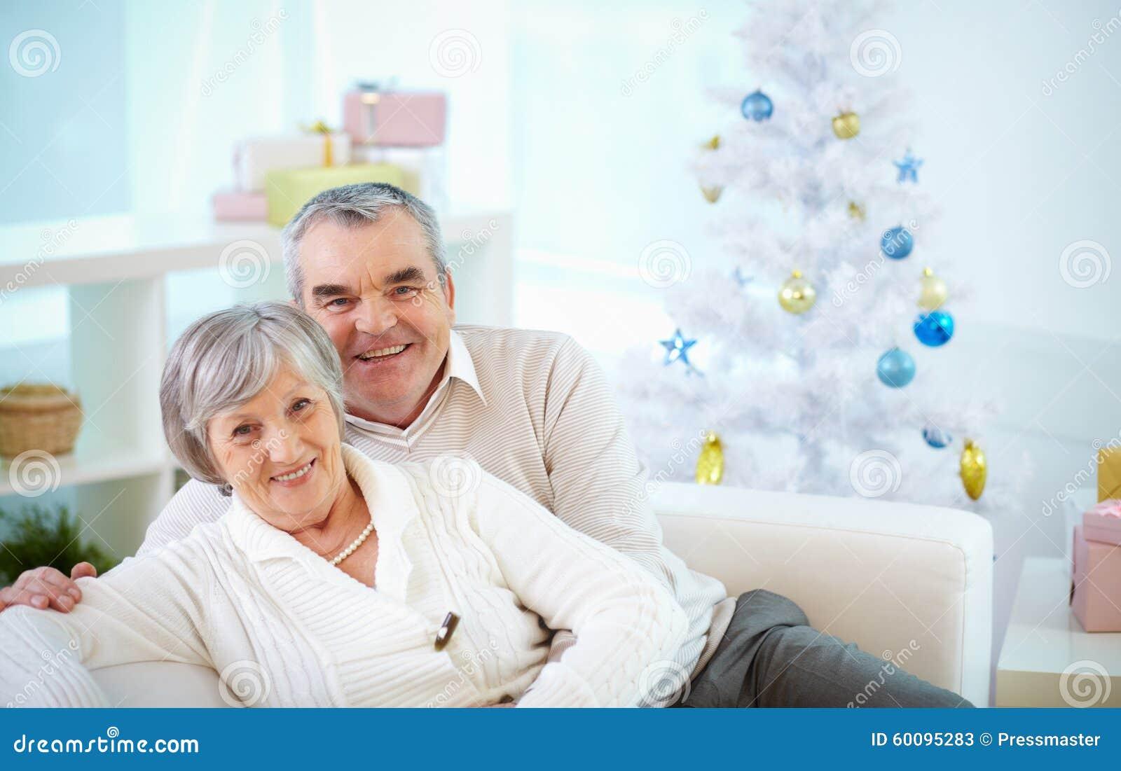 Hoger Paar bij Kerstmis