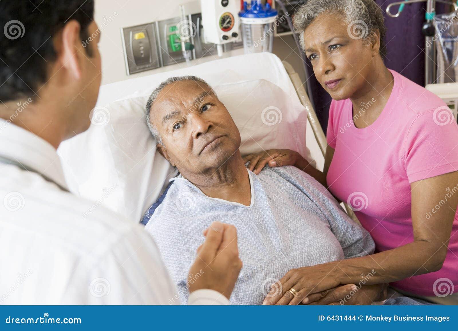 Hoger Paar dat aan Arts spreekt