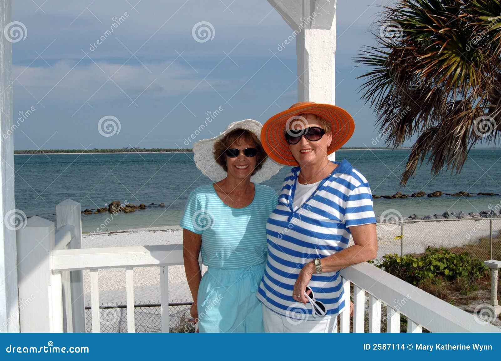 Hogere vrienden tropische reis