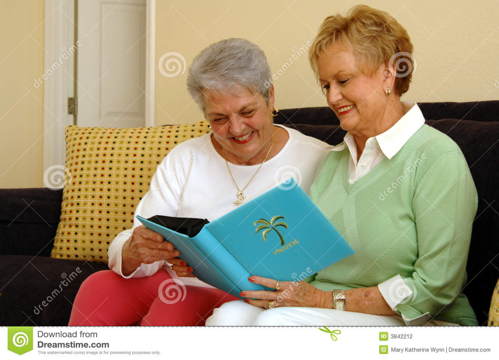 Hogere vrouwen die geheugen delen