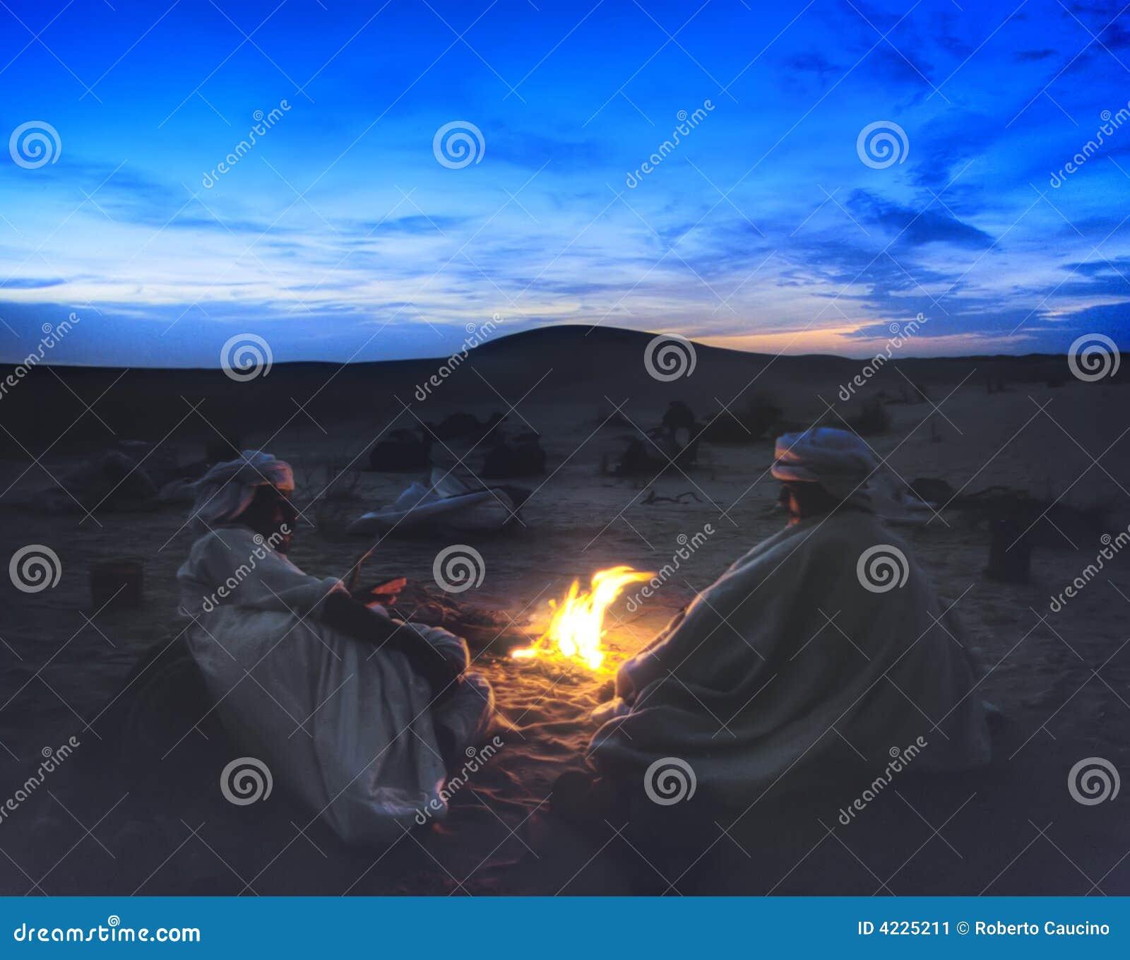 Hoguera del desierto