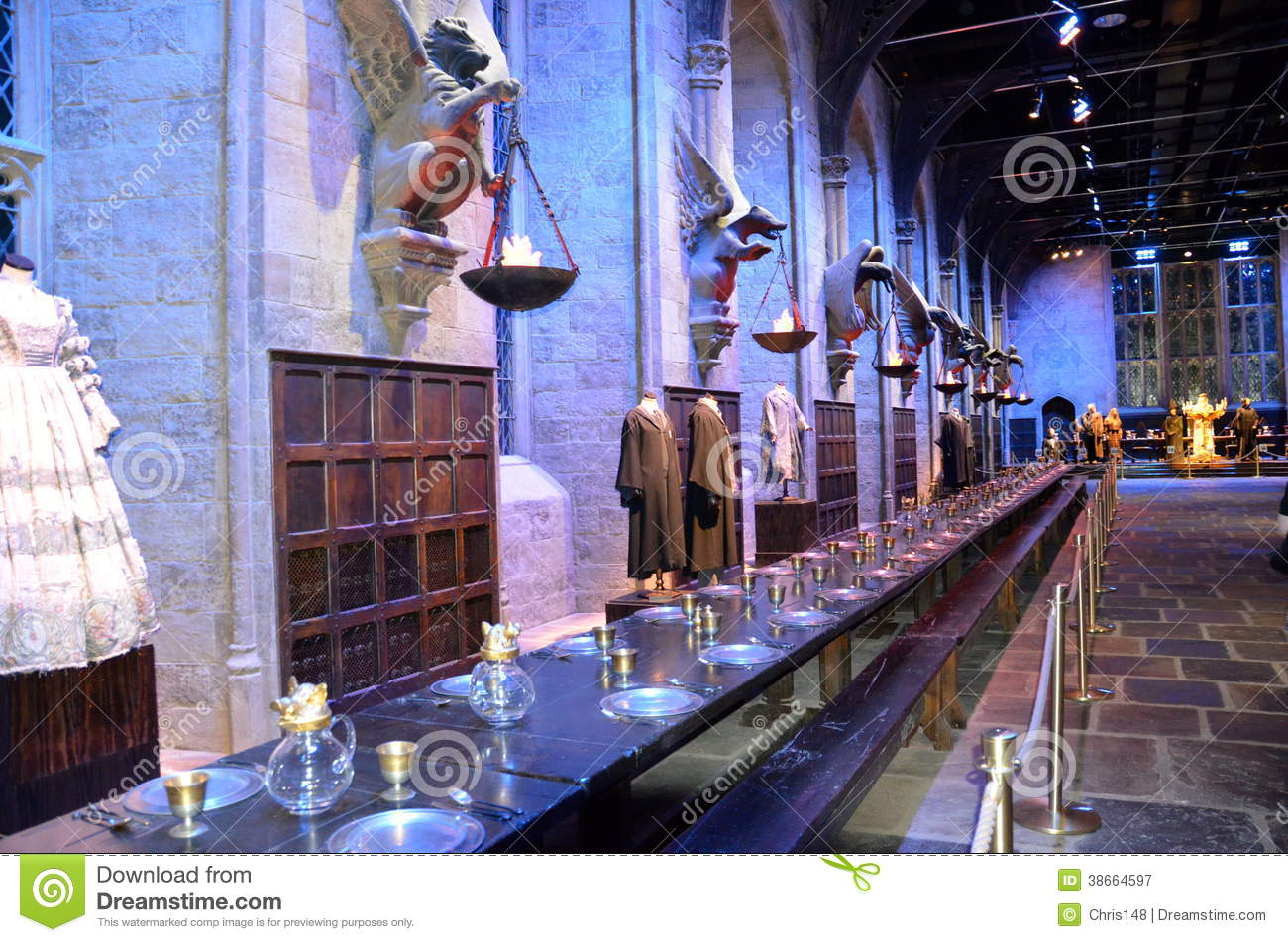 Hogwarts Great Hall At Warner Bros Studio London