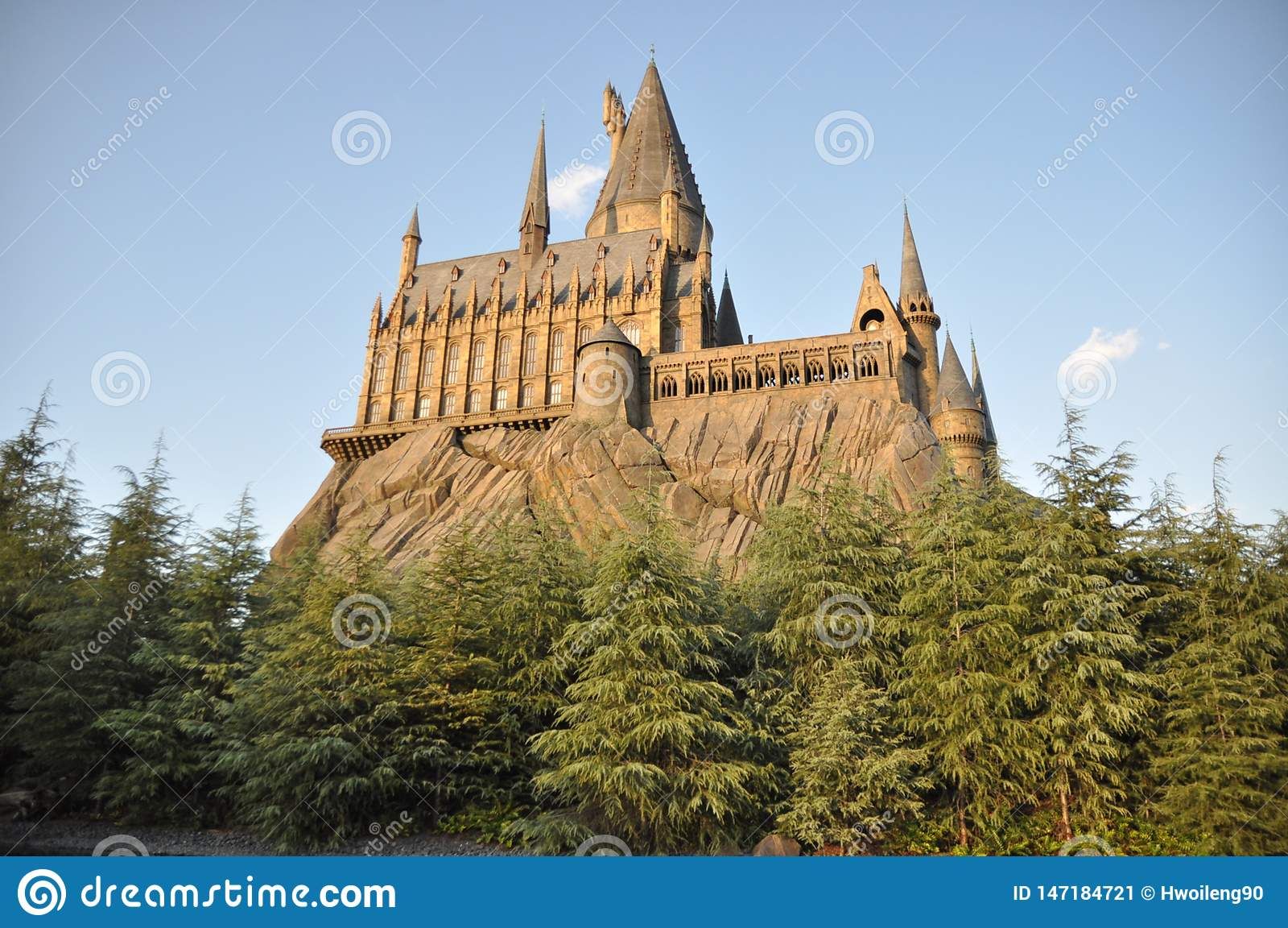 Hogwarts School in USJ
