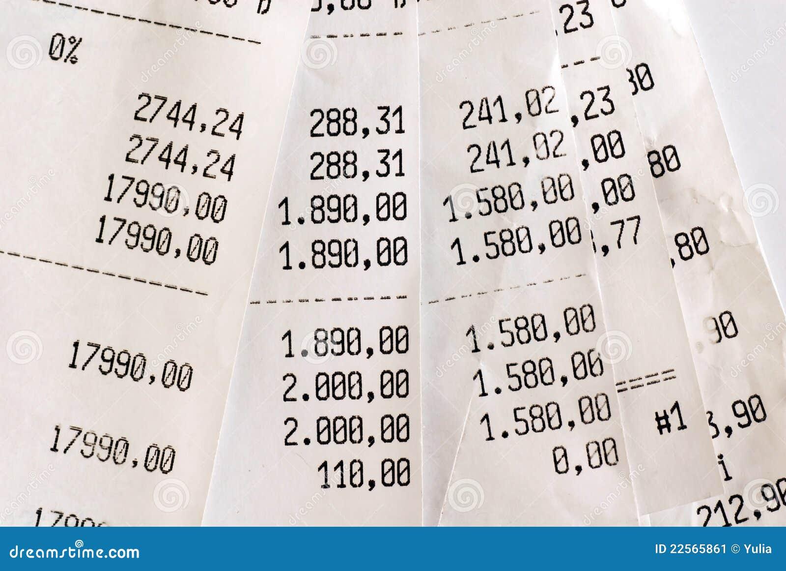 Hohe Rechnungen