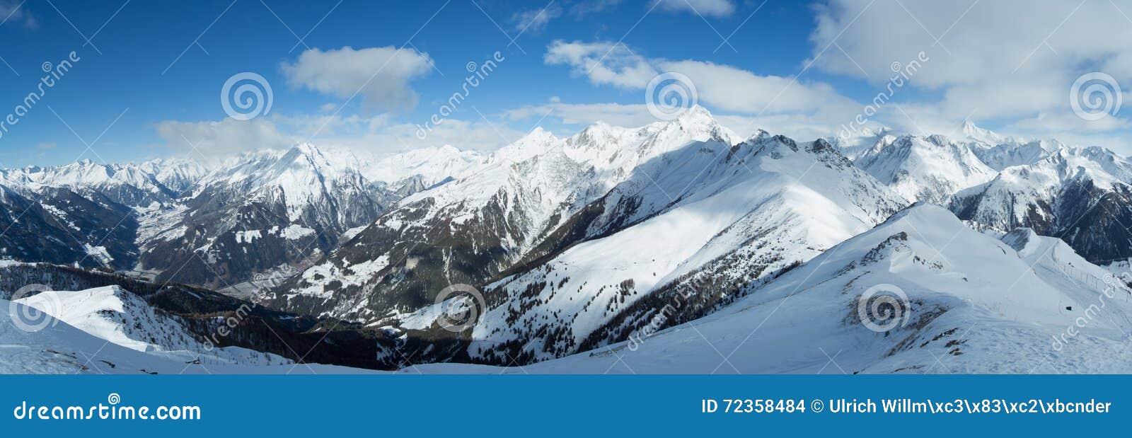 Hohe Tauern高山全景