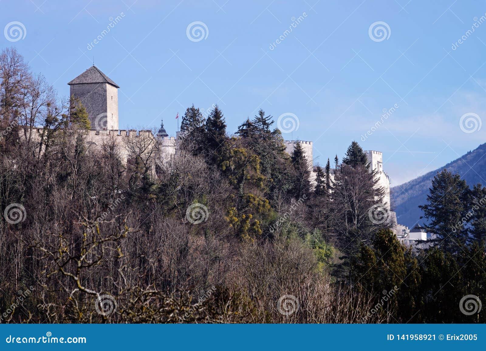 Hohensalzburgkasteel in Salzburg in Oostenrijk