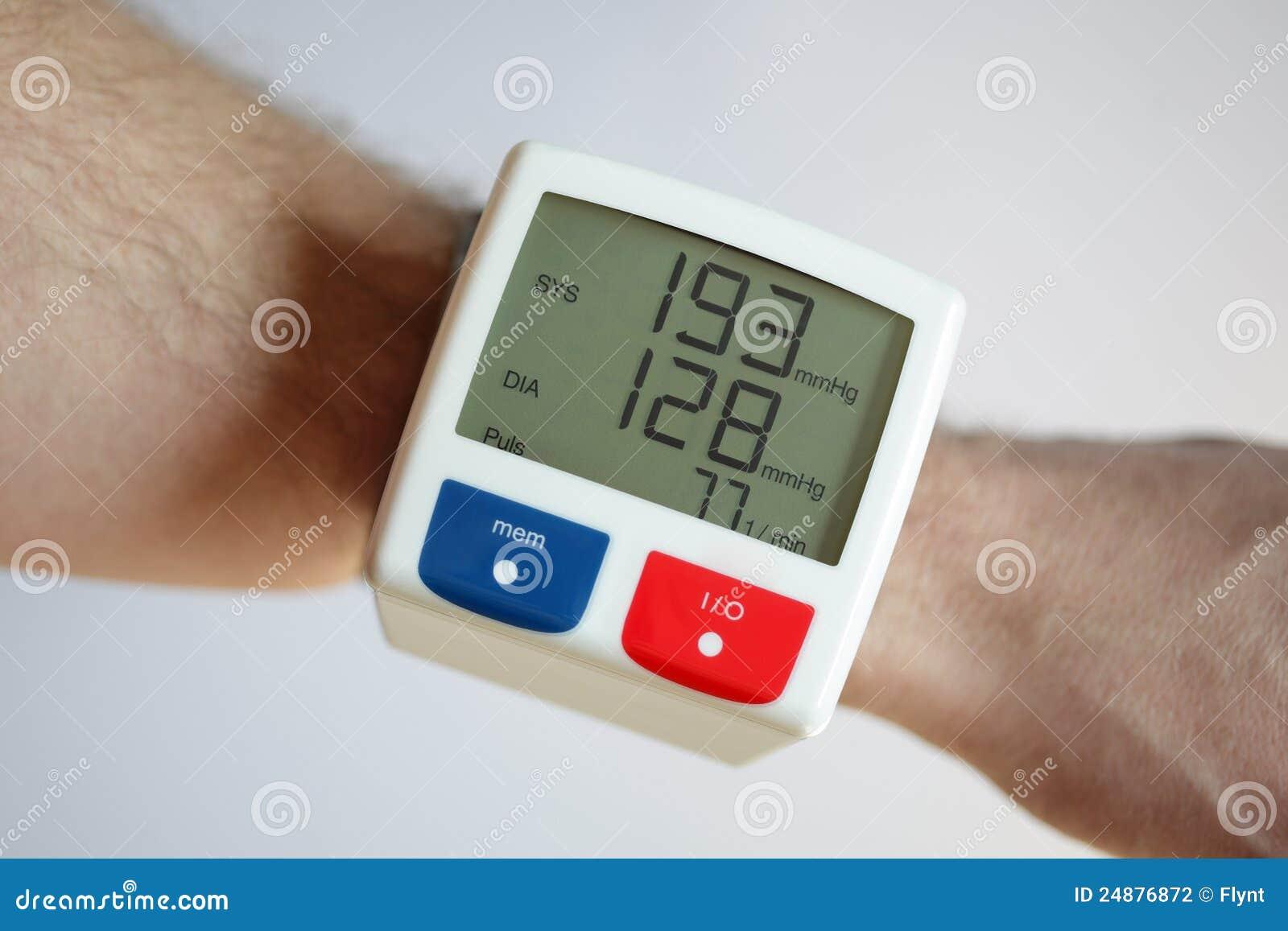 Hoher Blutdruck Stockfotografie - Bild: 24876872