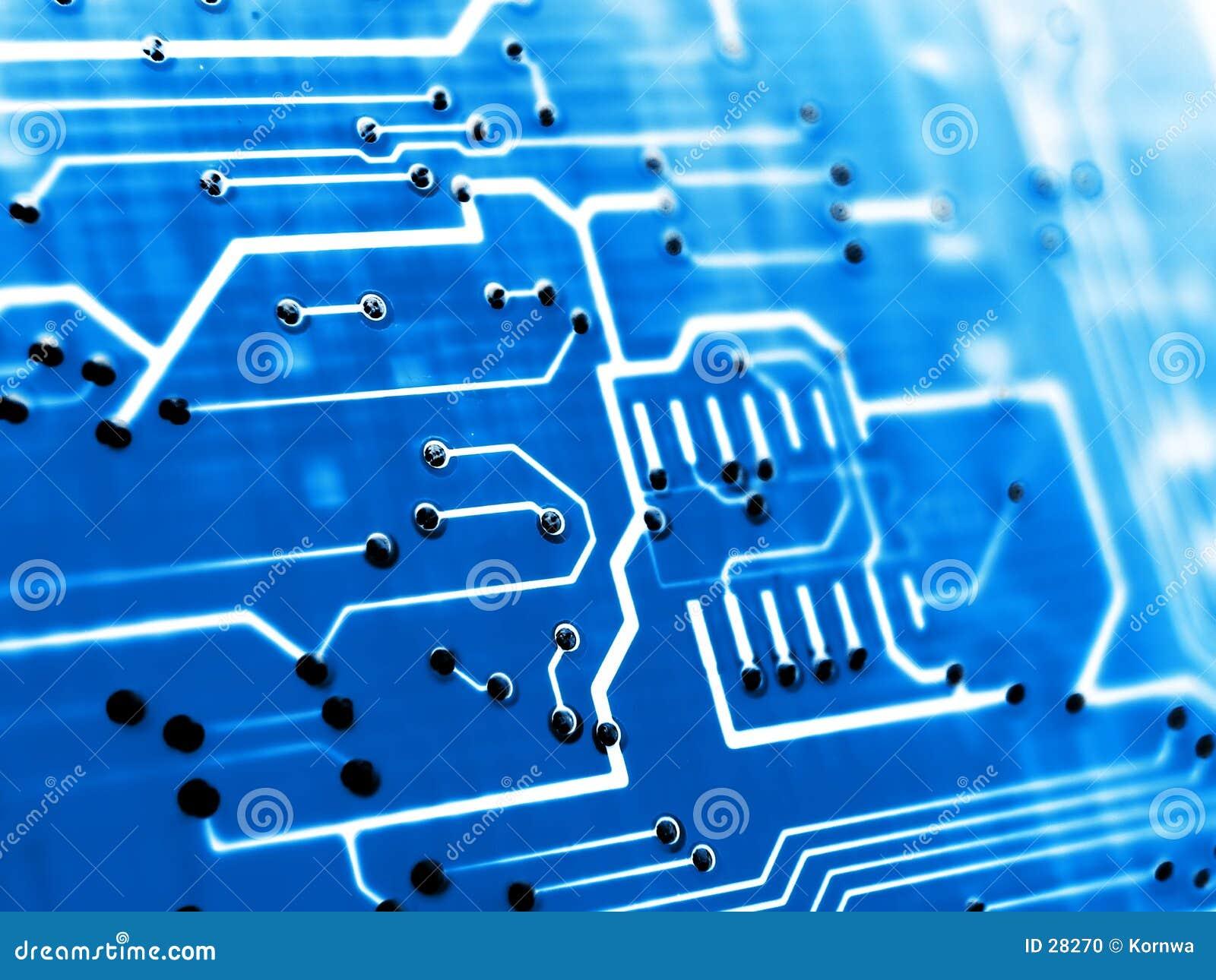 Hohes elektronisches