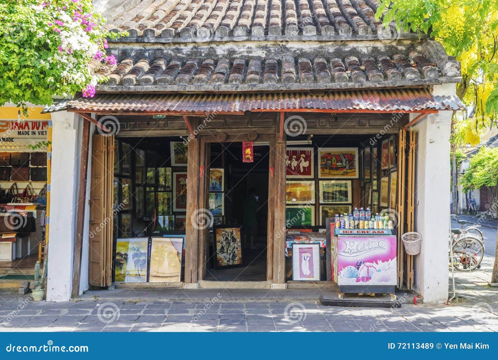 Hoi An Ancient stad, Quang Nam landskap, Vietnam