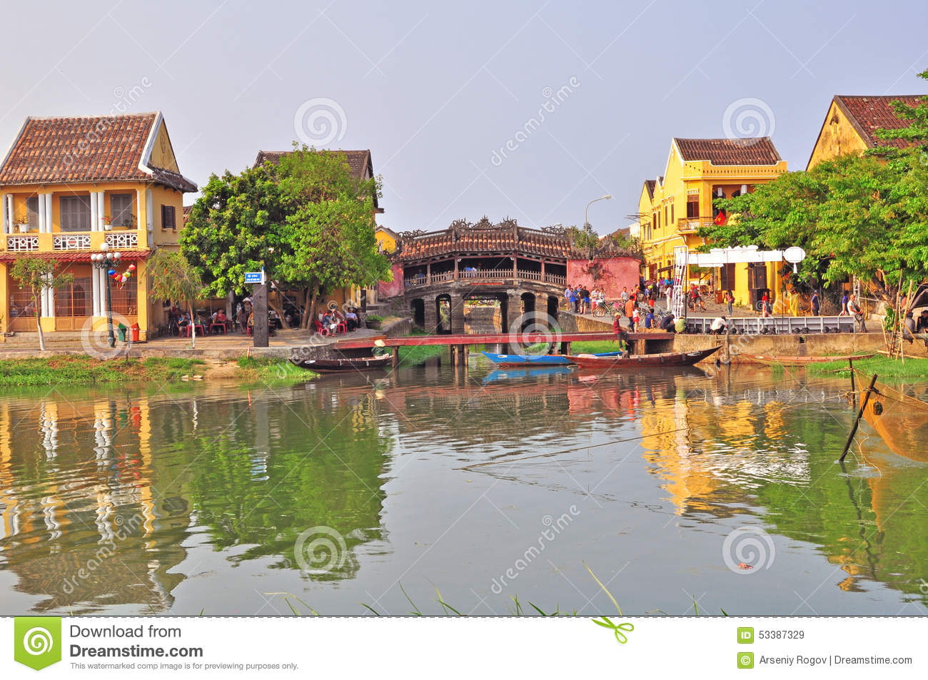 Download Hoi An, Vietnam editorial stock image. Image of empty - 53387329
